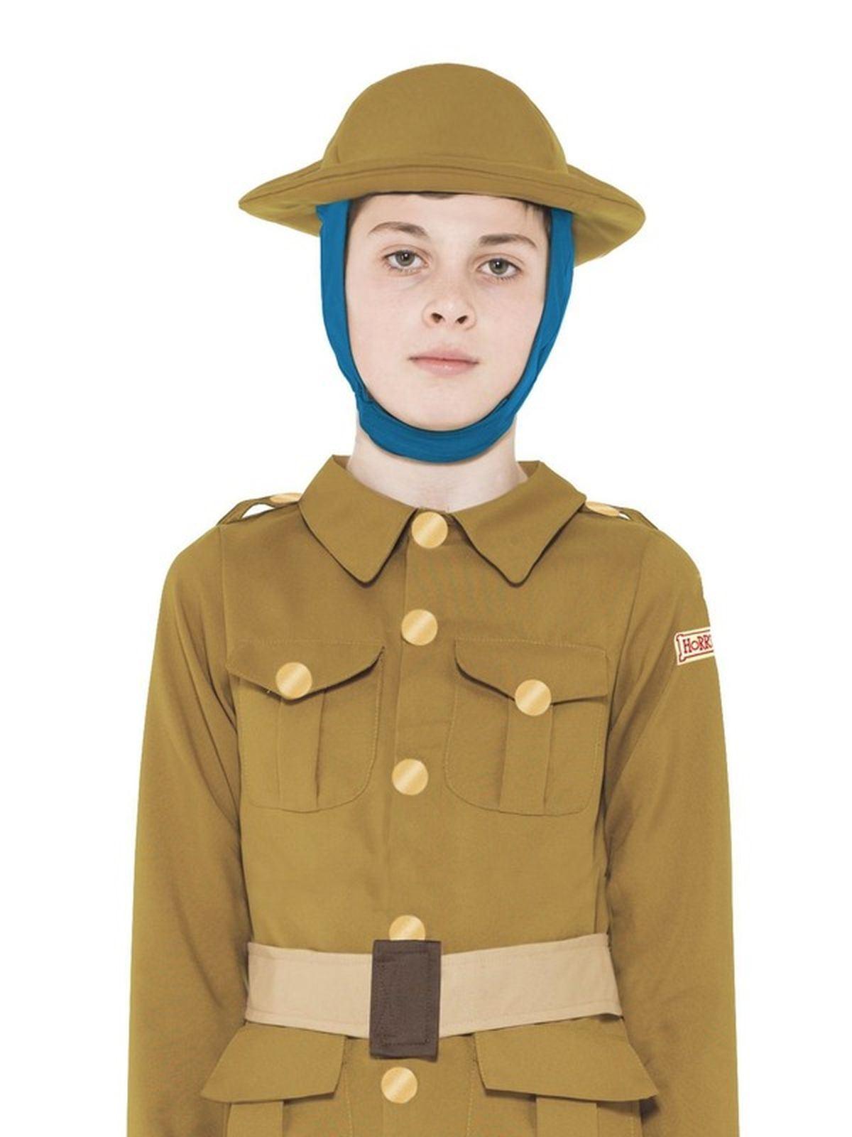 Men/'s 1910s to 1920s Soldier Fancy Dress Costume