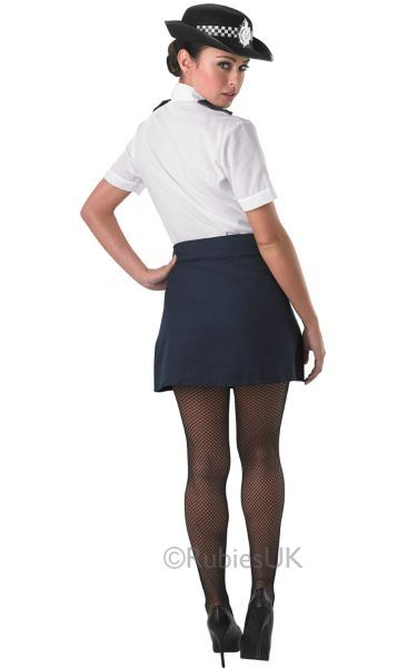 Policewoman Police officer WPC cop Womens Costume Ladies Fancy Dress outfit hen