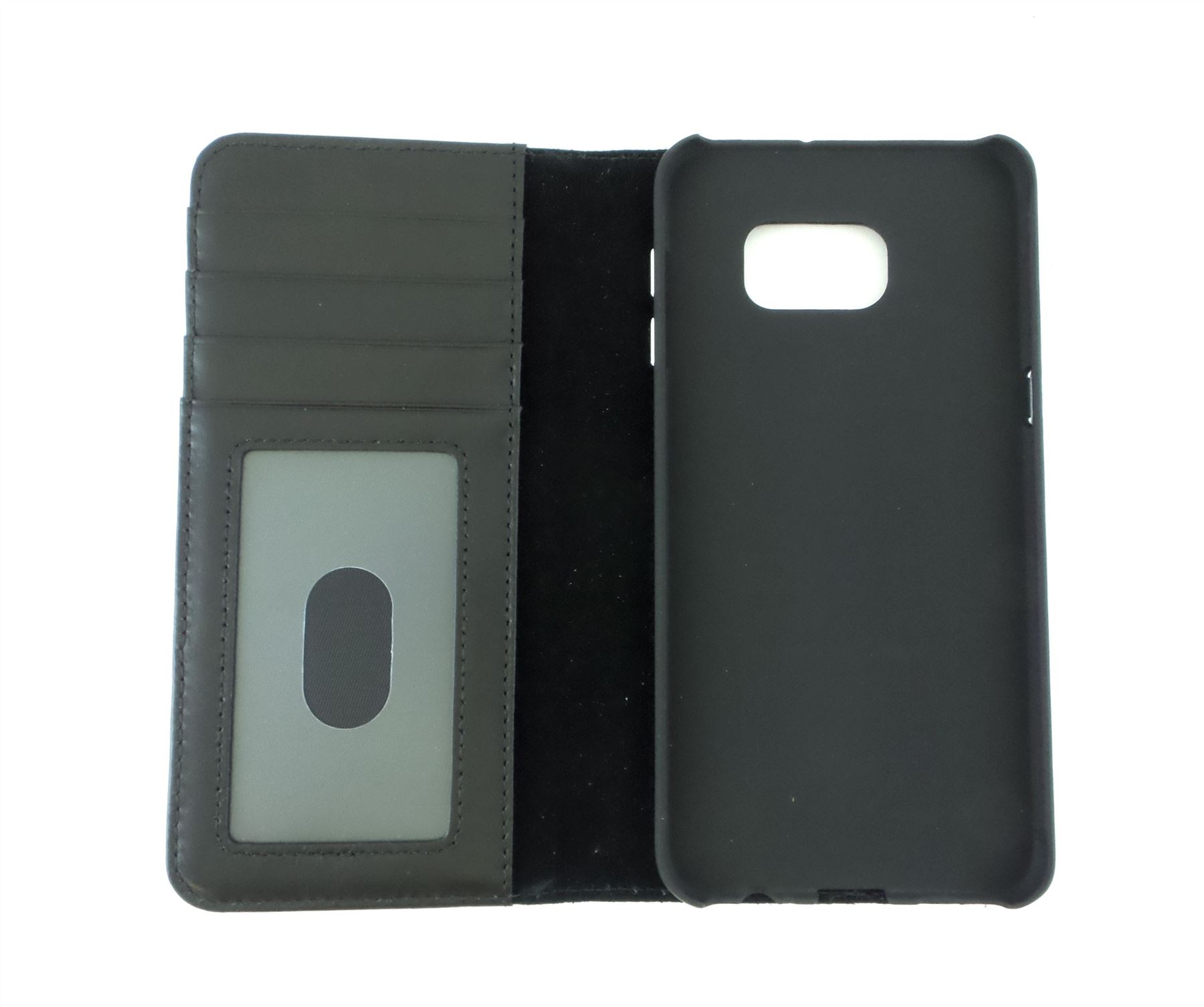 timeless design b7f39 b8536 Details about Case-Mate Leather Wallet Folio for Samsung Galaxy S6 Edge  Plus Black CM032923