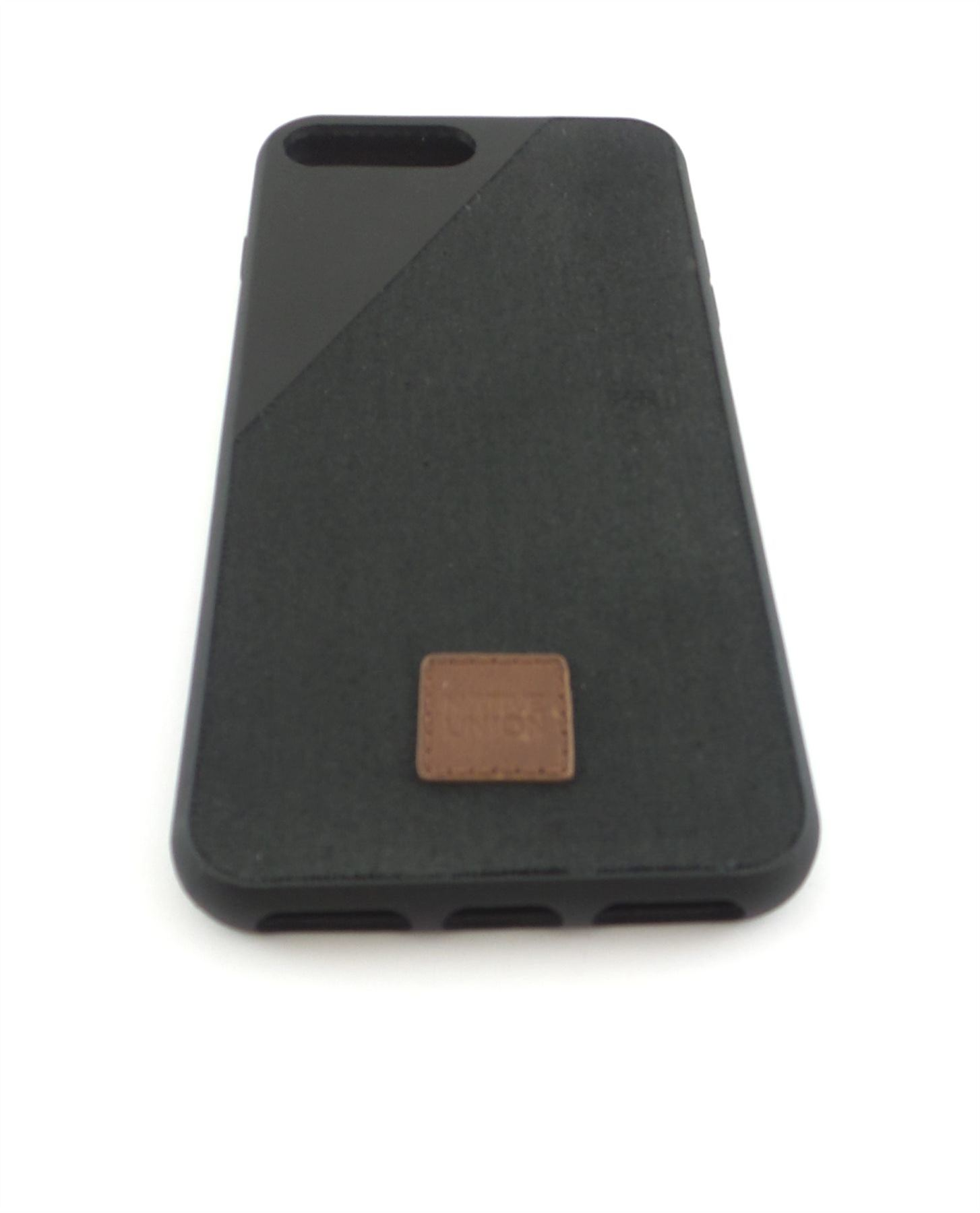 native union clic 360 canvas case for iphone 7 plus black clic360