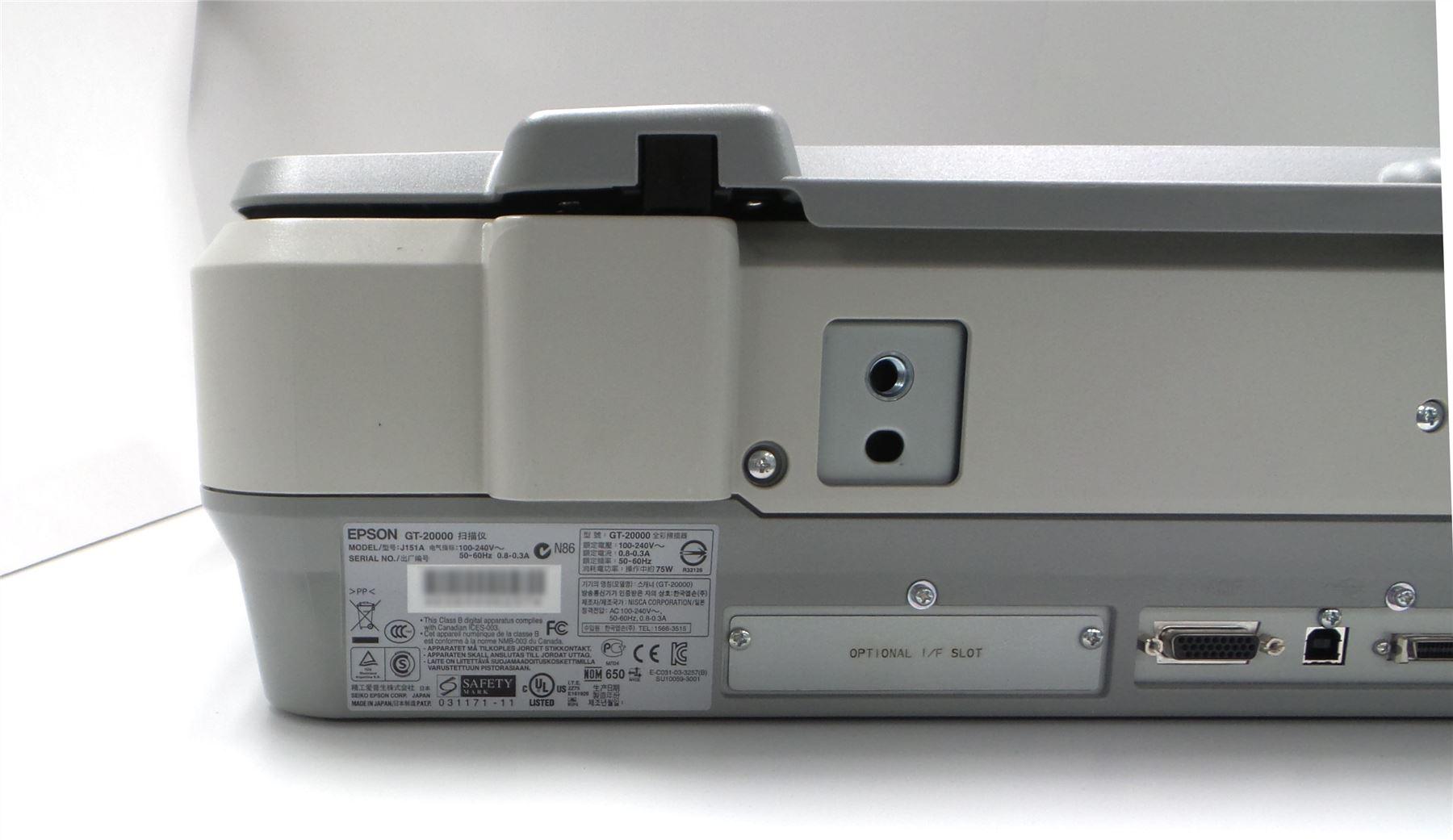 Details about Epson GT-20000 Flatbed Scanner A3 Large Format 48 Bit Color