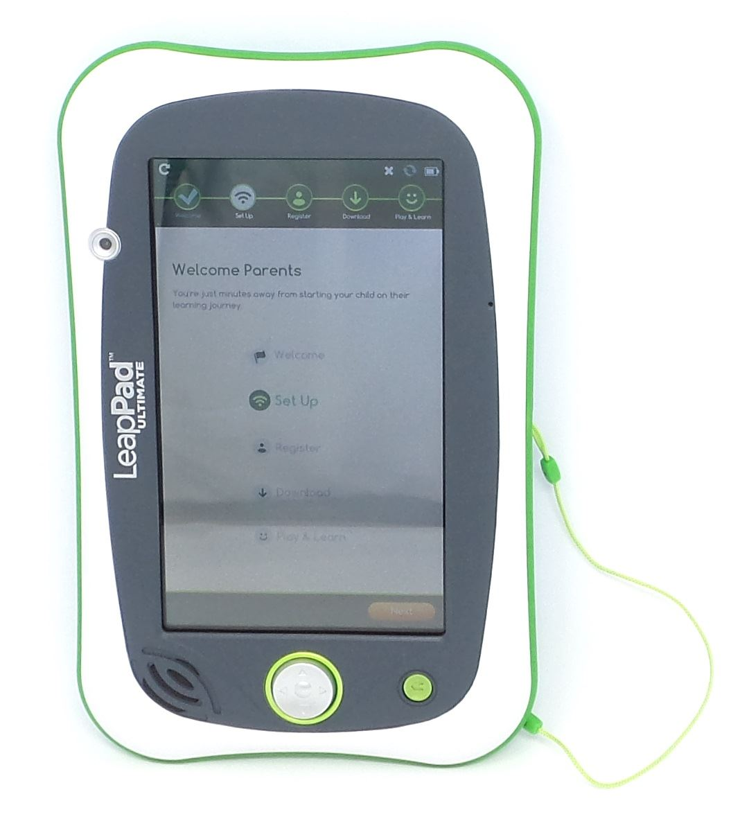 Groovy Details About Leapfrog Leappad Ultimate Kids Learning Tablet Green White 8Gb 80 602000 Bare Download Free Architecture Designs Rallybritishbridgeorg
