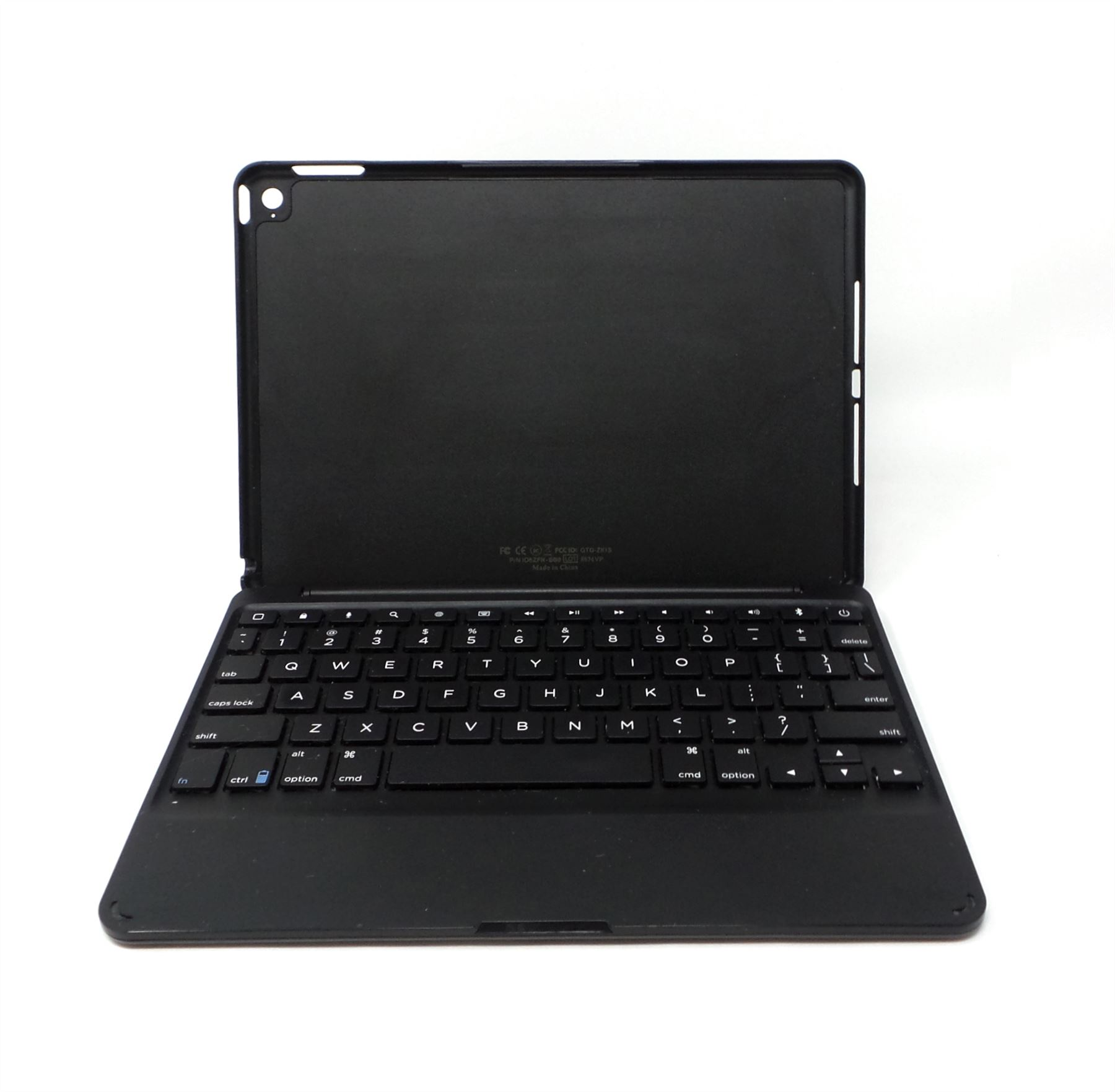 low priced 07f2e 96d38 Details about Zagg Folio Tablet Keyboard Case For Apple iPad Air 2  ID6ZFN-BB0 Black