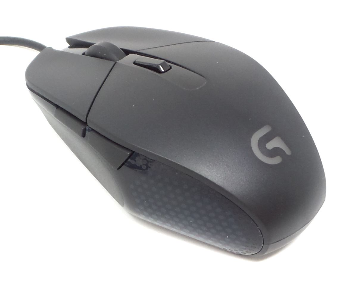dc31af5f087 Logitech G302 Daedalus Prime MOBA Gaming Mouse 6 Programmable Buttons Black