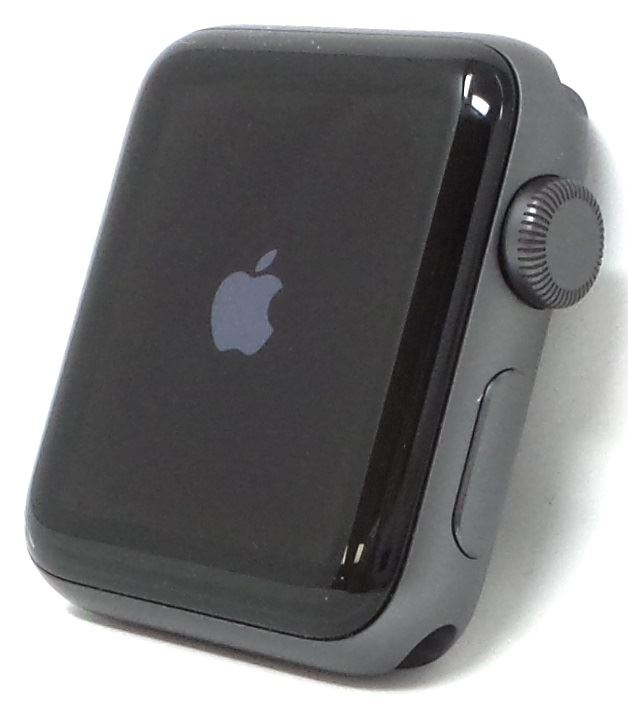 Apple-Watch-Series-3-Nike-Steel-Aluminum-Space-38mm-42mm-Colors-GPS-No-Band thumbnail 24