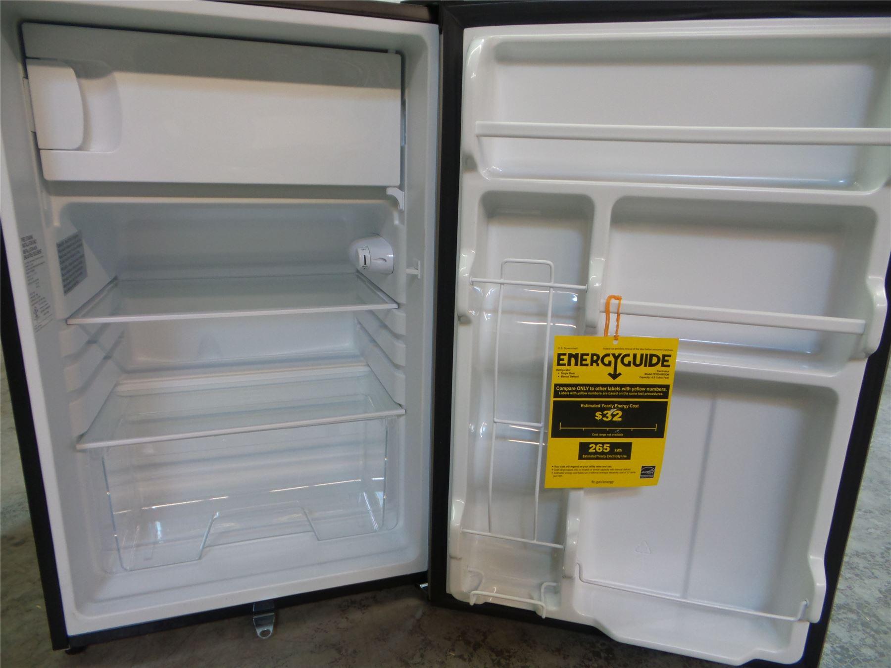 Compact Fridge For Dorm: Frigidaire FFPE45B2QM 4.5 Cu. Ft Compact Refrigerator