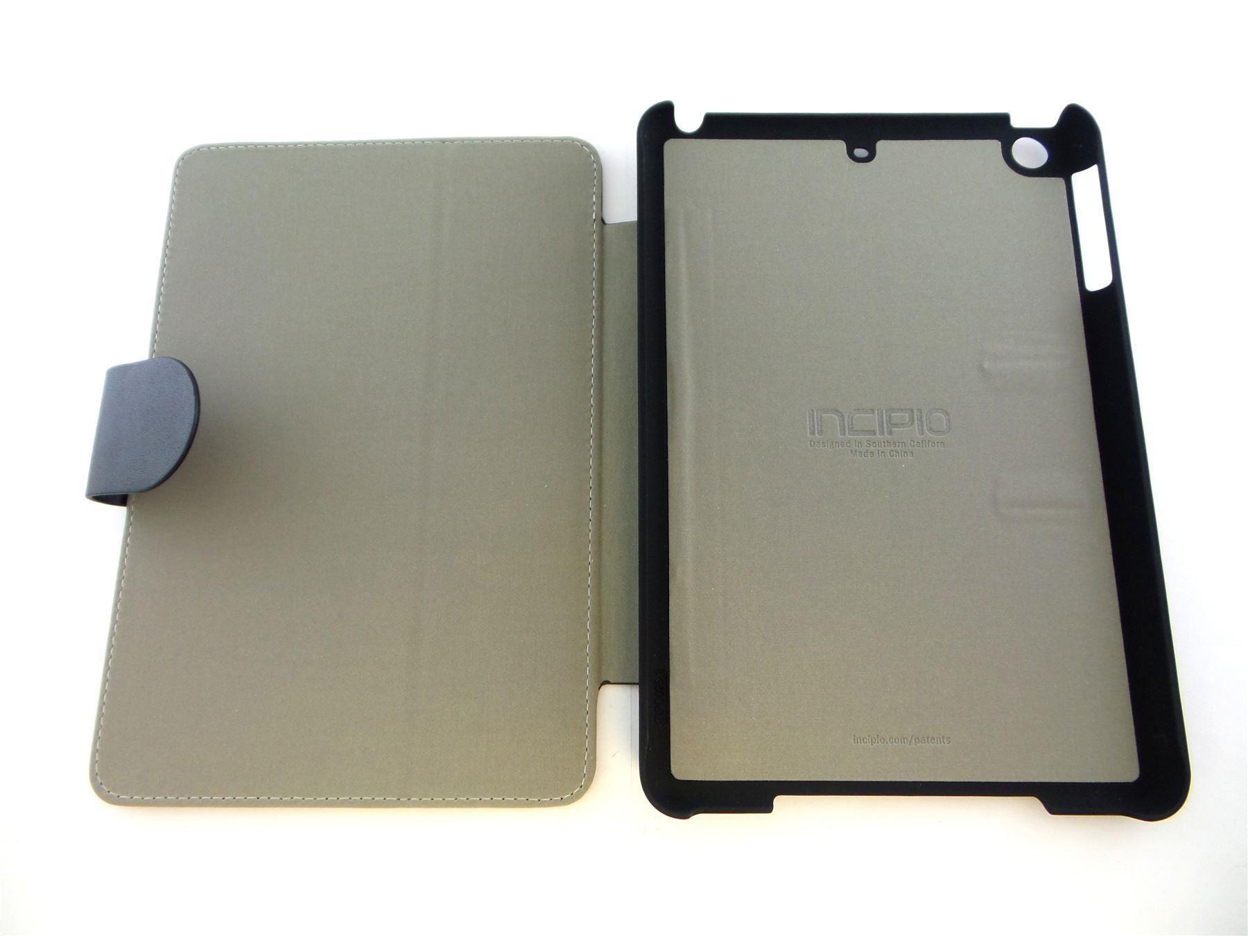 finest selection 95698 67d13 Details about Incipio Lexington Folio Case for Apple iPad mini 1/2/3 Black  IPD-294-BLK-V