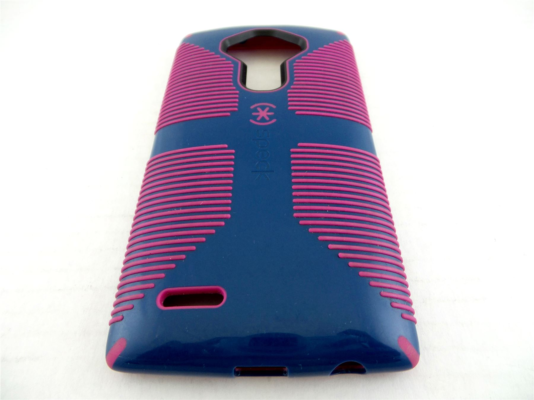 great fit 4336f f884a Details about Speck CandyShell GRIP Case for LG G4 Deep Sea Blue Lipstick  Pink SPK-A3734