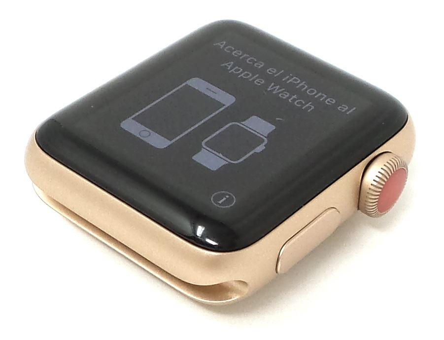 Apple-Watch-Series-3-Nike-Steel-Aluminum-Space-38mm-42mm-Colors-GPS-No-Band thumbnail 12
