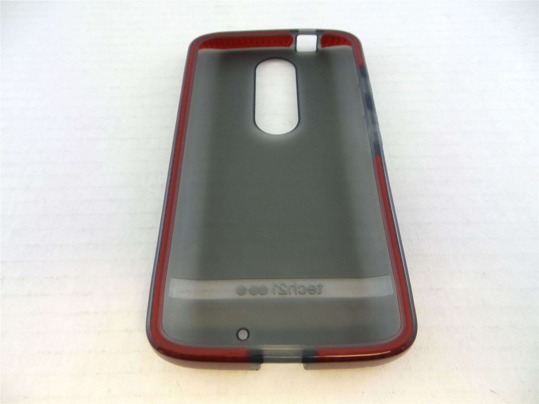 separation shoes bbaaf 41cf0 Details about Tech21 Evo Shell Case for Motorola Droid Turbo 2 Smokey Red  T21-4492