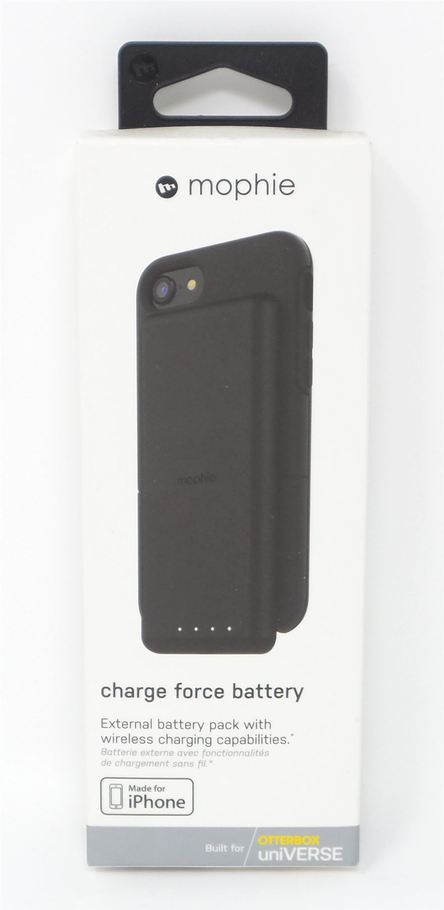 buy popular 231ba 411c9 Details about Mophie Charge Force Battery External Battery for OtterBox  Universe Black New