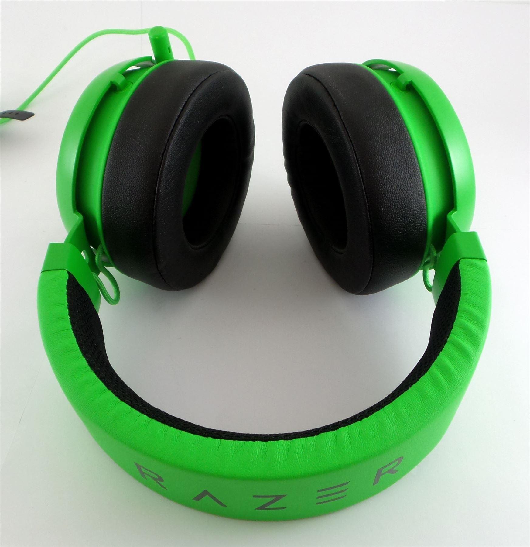 Razer Kraken Pro V2 Analog Gaming Headset Green 32 Ohms Rz04 Black 02050300 R See Desc