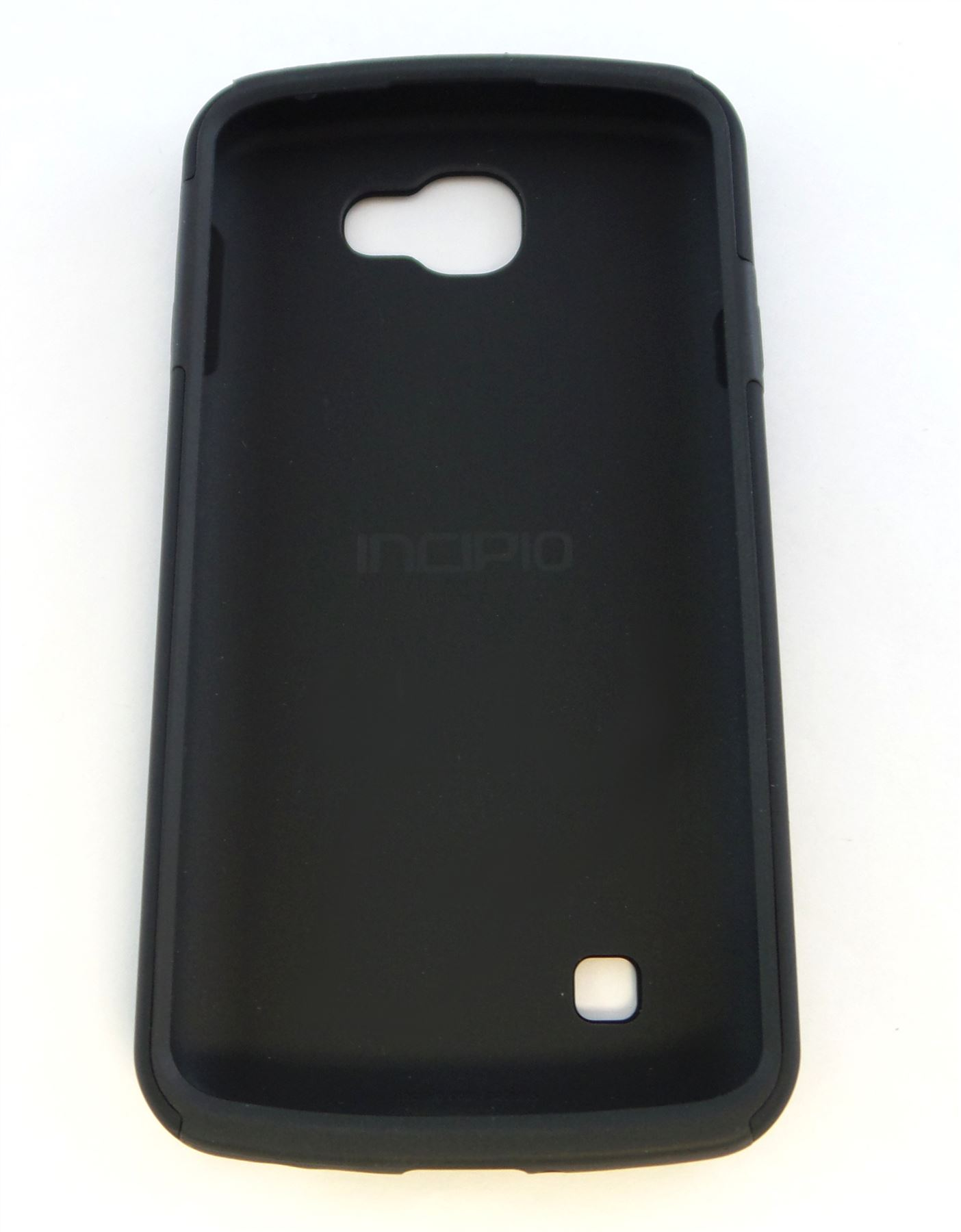 new product 23b66 12711 Details about Incipio DualPro Dual Layer Protection Case for LG K4 LTE  Black LGE-300-BLK-V