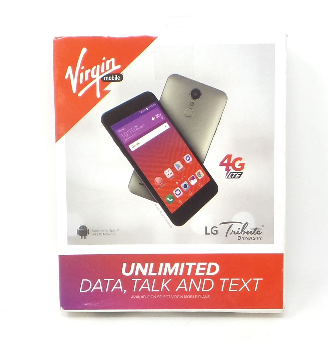 Details about Virgin Mobile LG Tribute Dynasy 4G LTE Smartphone Champagne  LGSP200AVB New