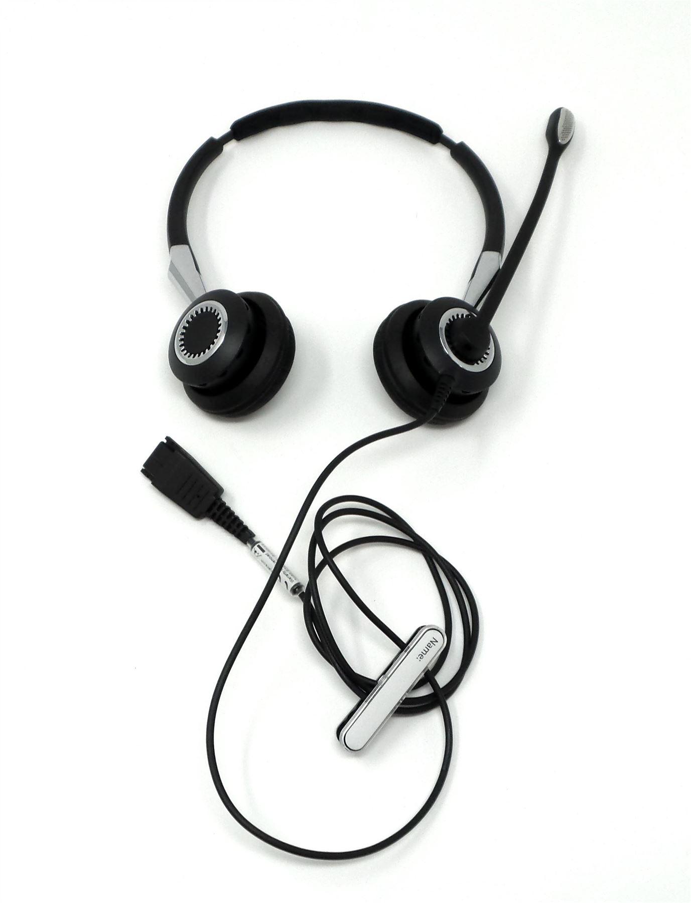 Jabra Biz 2400 Ii Qd Duo Nc Wideband On Ear Wired Headset Black 2489 Rox Bluetooth Earphone Putih Limited 825 209