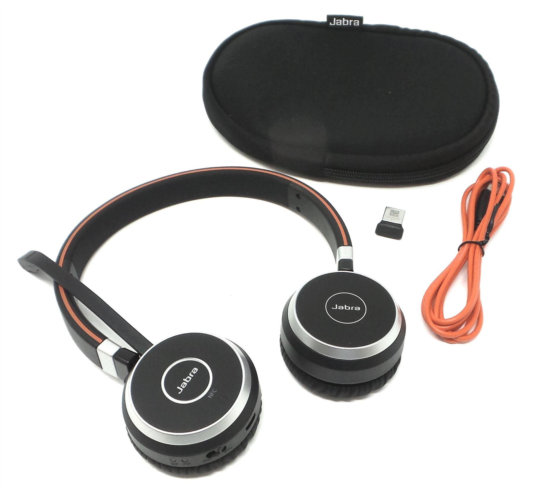 Jabra Evolve-65 Wireless-Stereo-Bluetooth Headset
