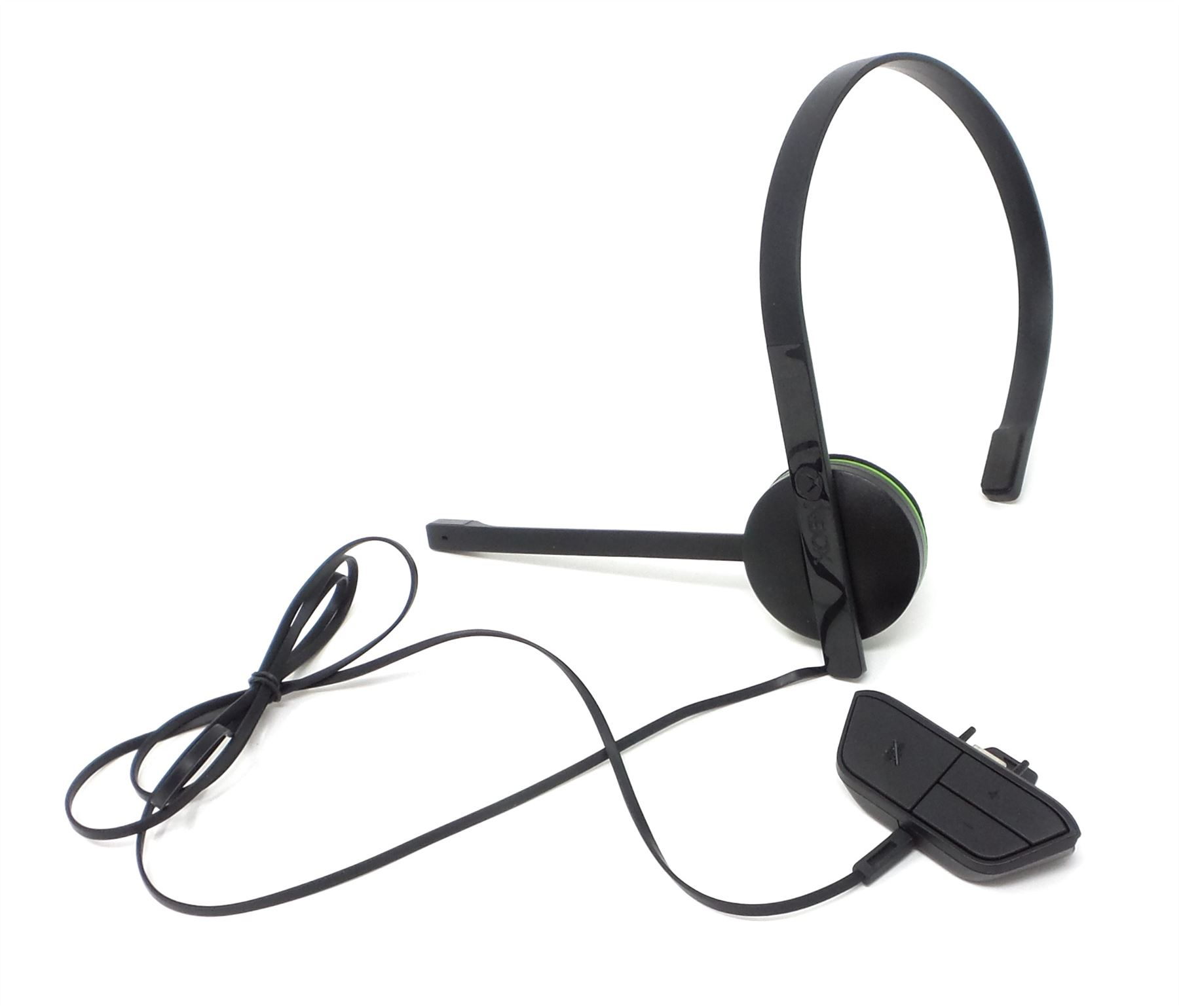Microsoft Xbox One Chat Headset Wired Mono Volume Control Mic S5V-00014  Black