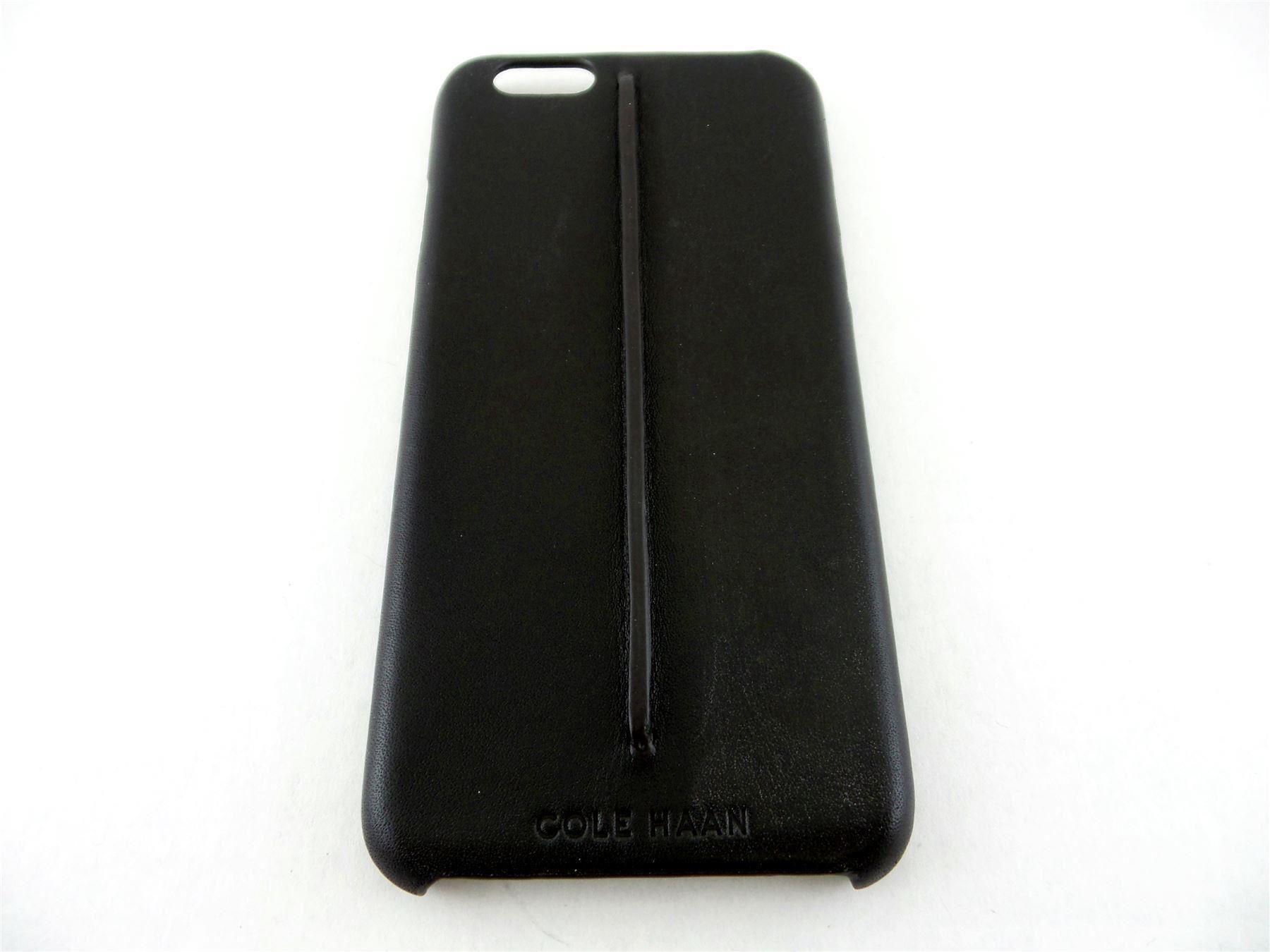 Cole-Haan-Leather-Pinch-Dark-Roast-Black-Case-