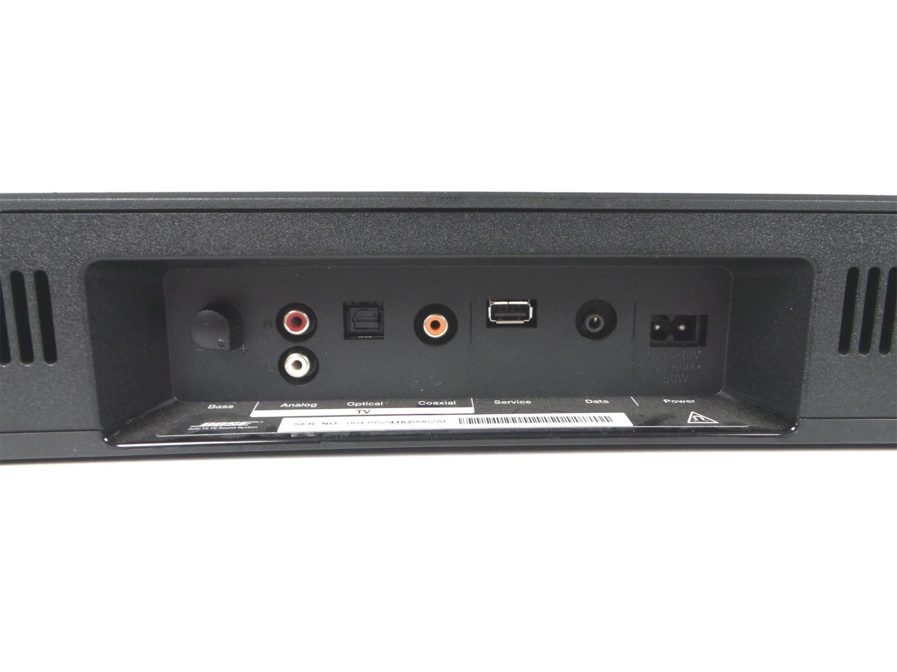 Bose Solo 15 Series I Sound System Soundbar Home Theater Speaker