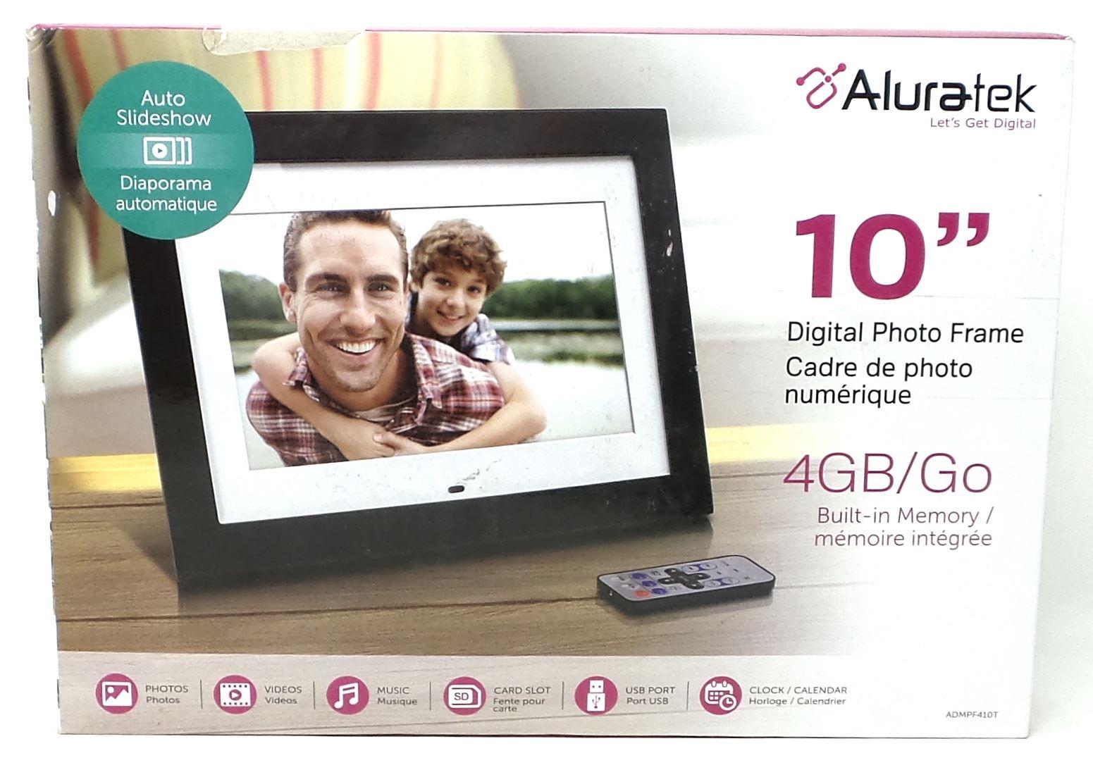 Aluratek Digital Photo Frame 10\