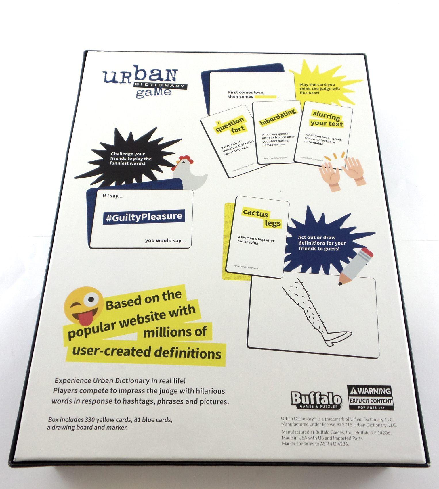 Explicit urban dictionary