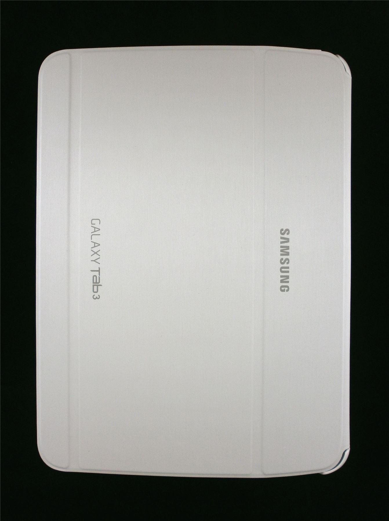 Samsung Book Cover White ~ Samsung book cover galaxy tab quot white efbp bweguj