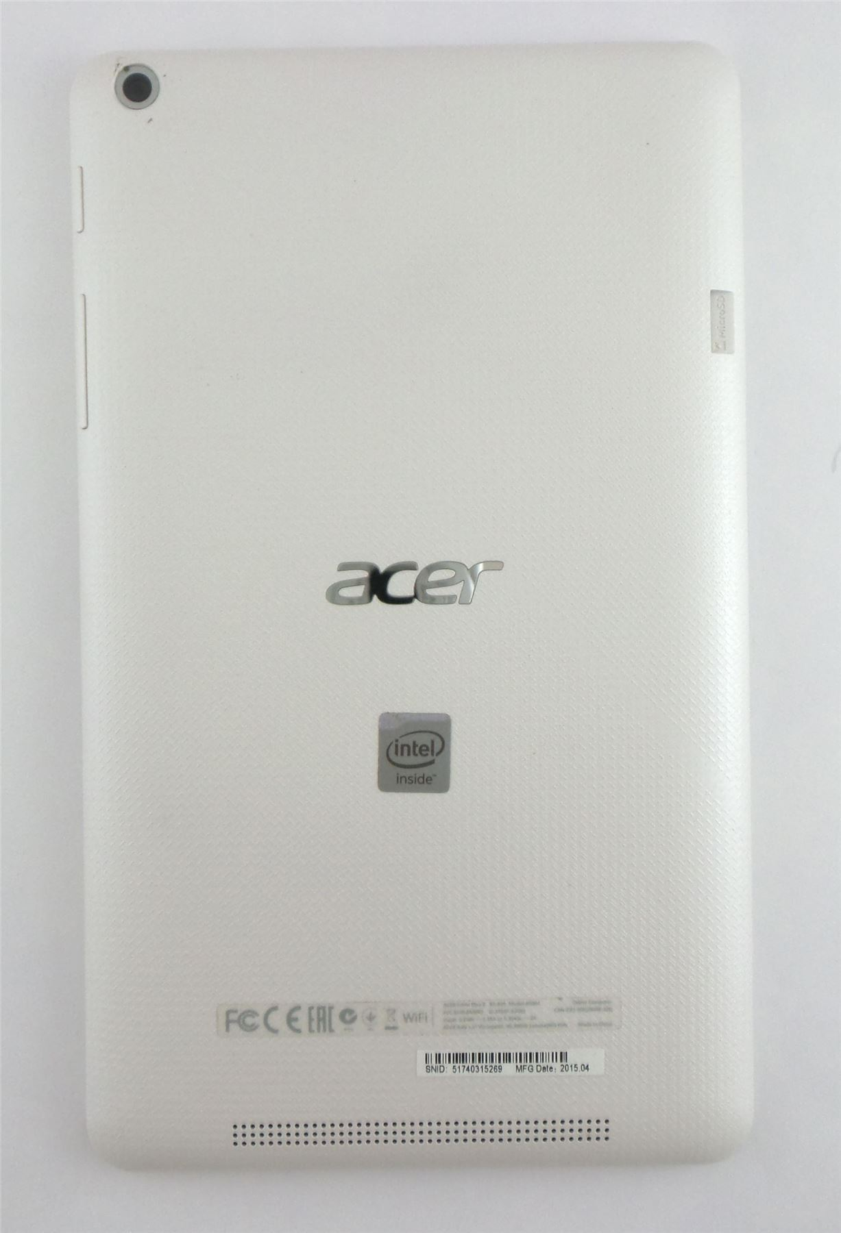 Acer-Iconia-One-8-8-034-Android-Tablet-White-16GB-Wi-Fi-B1-820-16FX-FPO thumbnail 3