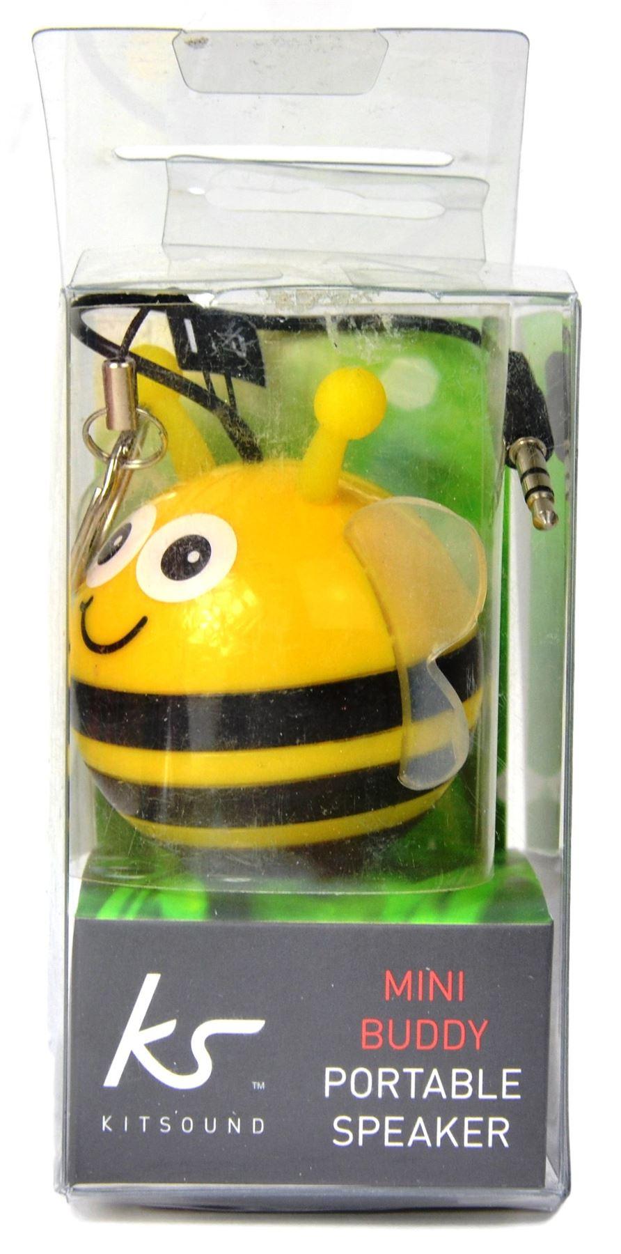KitSound-Mini-Buddy-Portable-Rechargeable-Keyring-Speaker-Universal-HD-Sound
