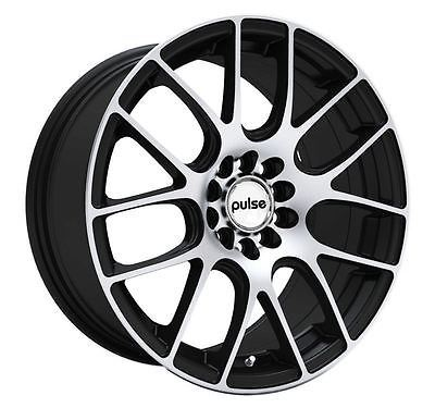 16 Gloss Black Machine Wheel Fits Chevrolet Jeep Buick Dodge