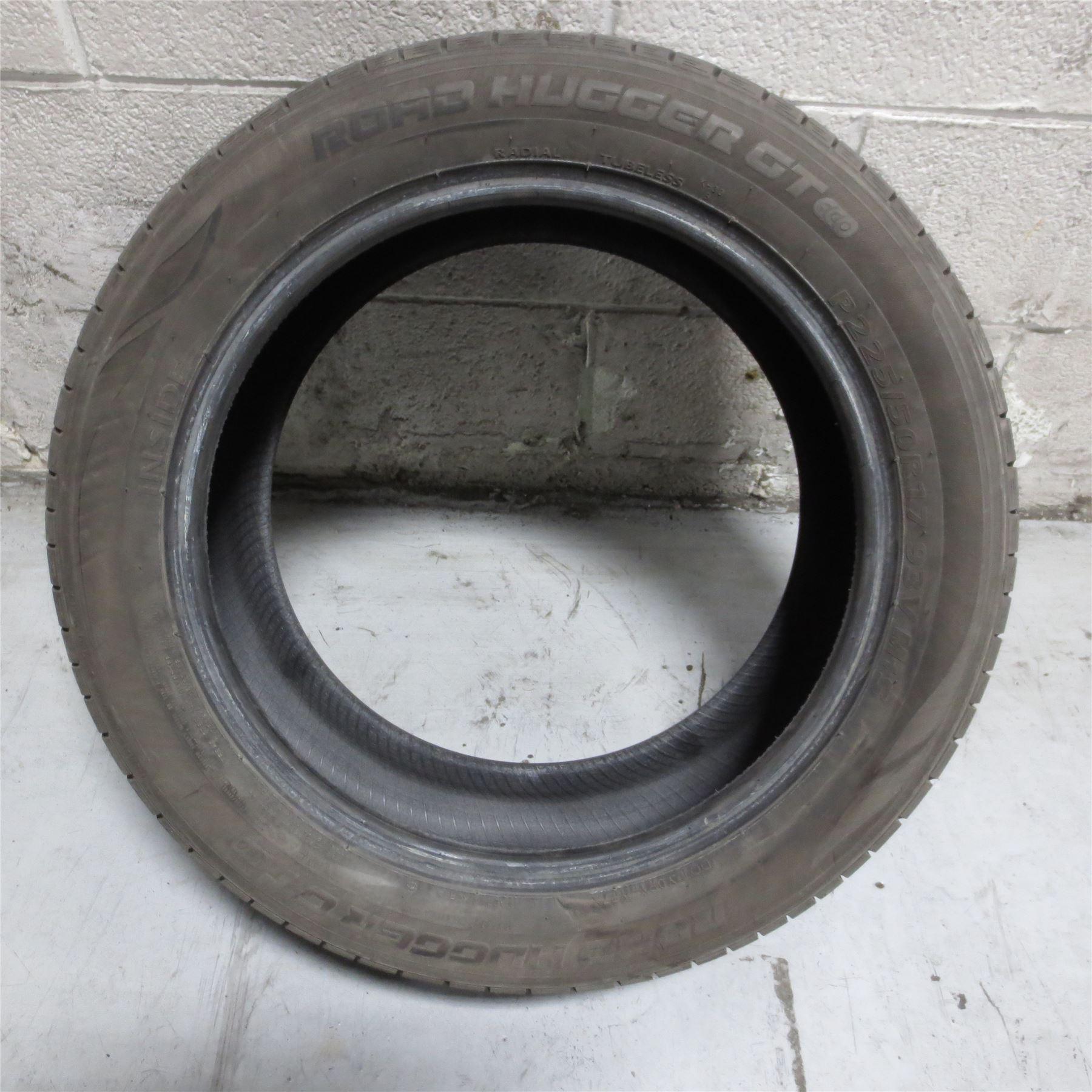 225 50r17 Road Hugger Gt Eco 93v Tire 10 32nd No Repairs Ebay