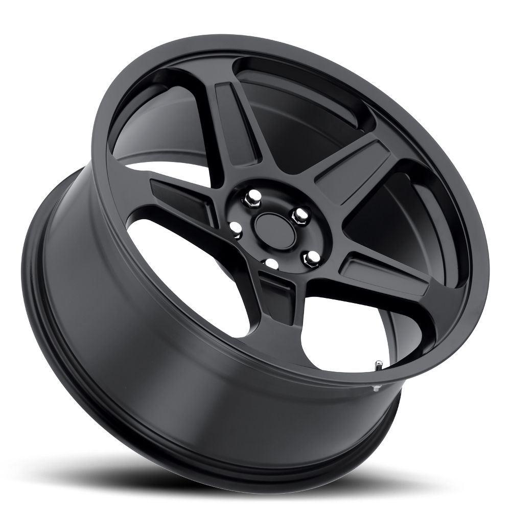 4 New 20x9/10.5 +20/25 Dodge Demon Replica Wheels Rims Matte Black 5x115 | eBay