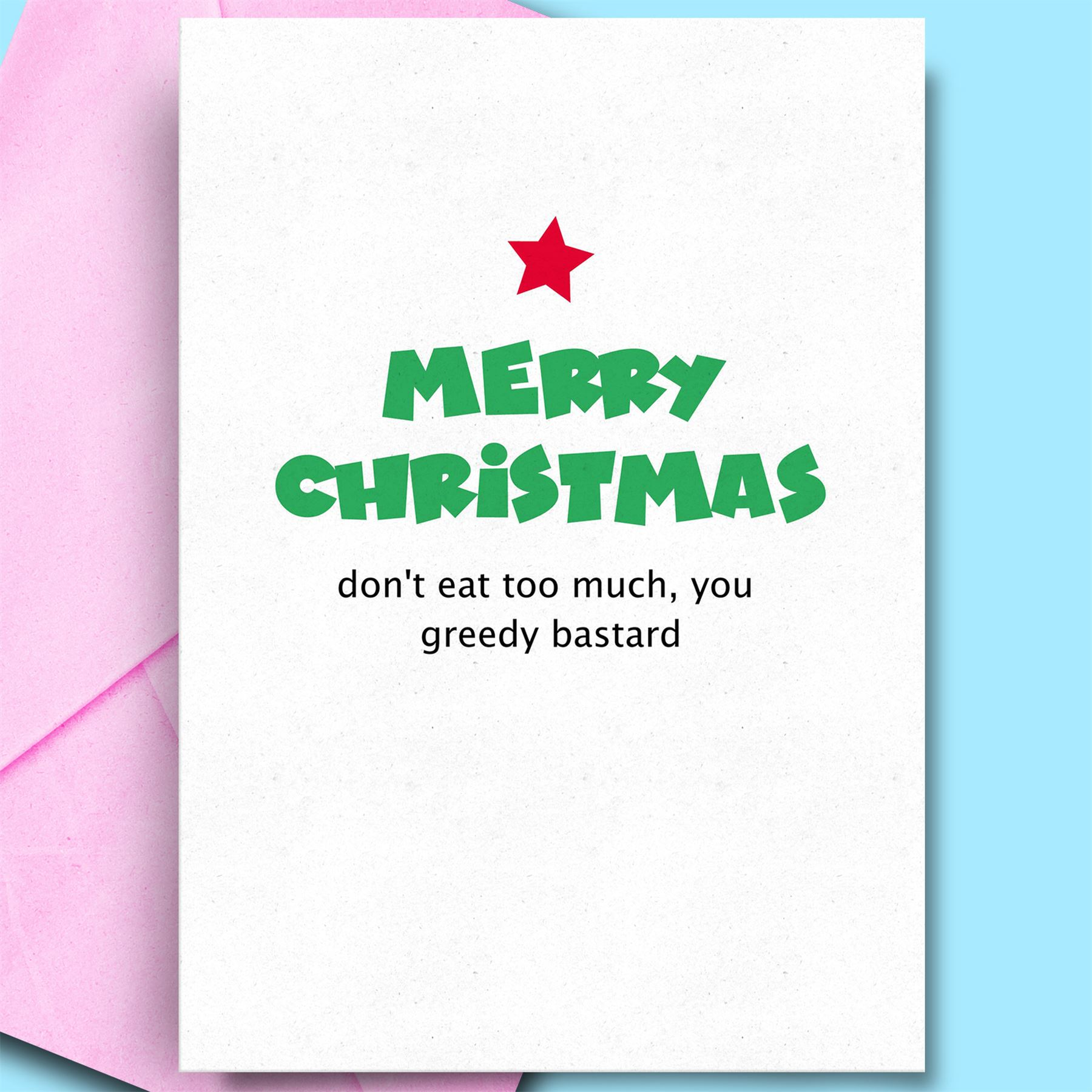 Christmas Cards For Boyfriend Humour Card Niece Uncle Brother Funny ...