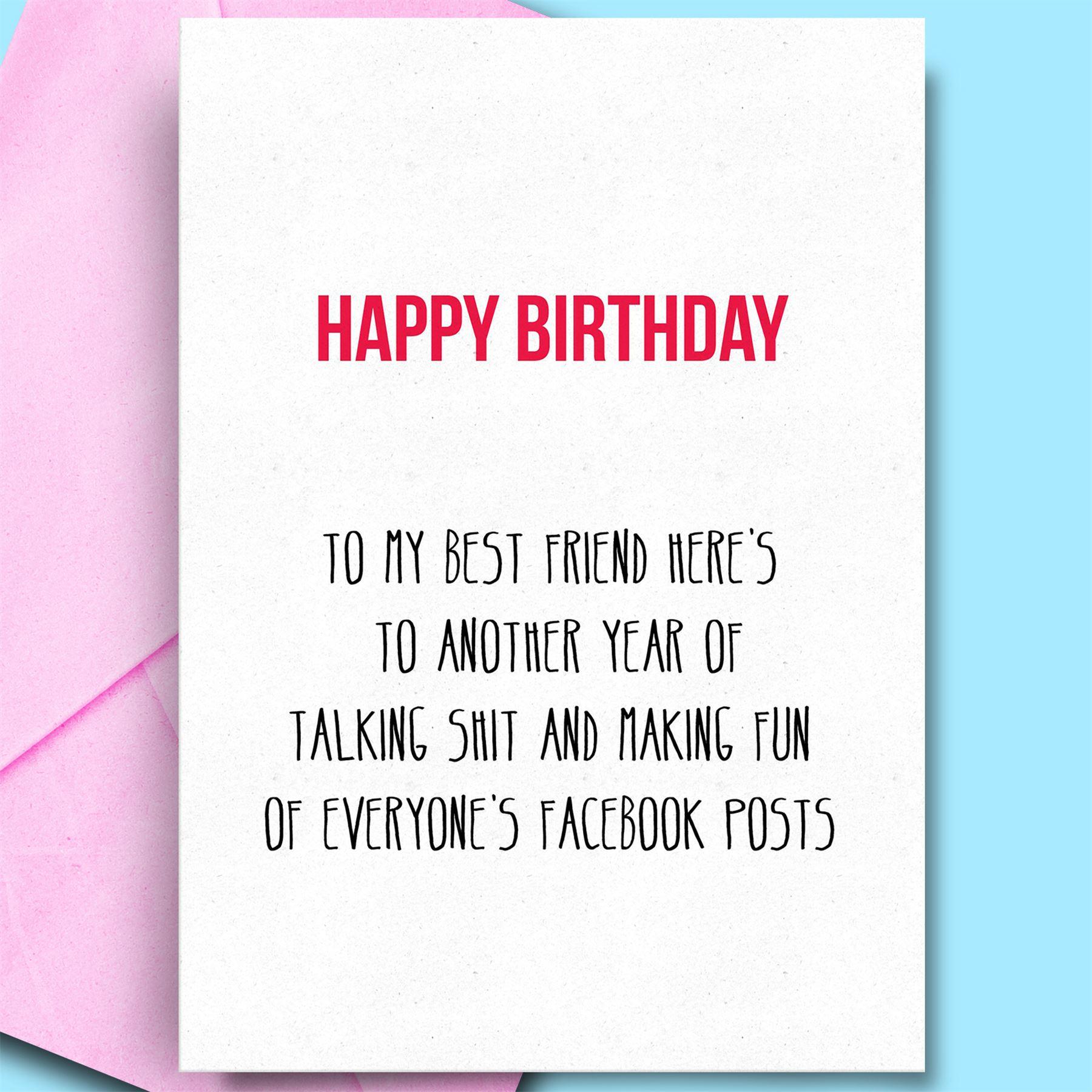 happy birthday card for mum boyfriend brother sister rude