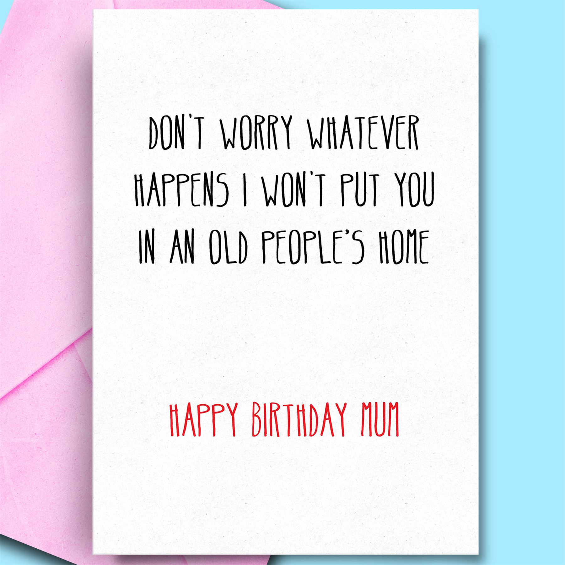 Details About Happy Birthday Cards Dad Mummy Mum Cool Best