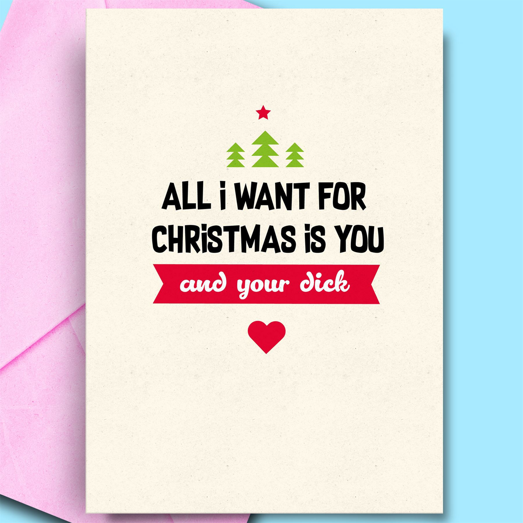 Cool Christmas Cards.Details About Cool Christmas Cards For Husband Cheeky Card Daughter Brother Boyfriend Funny