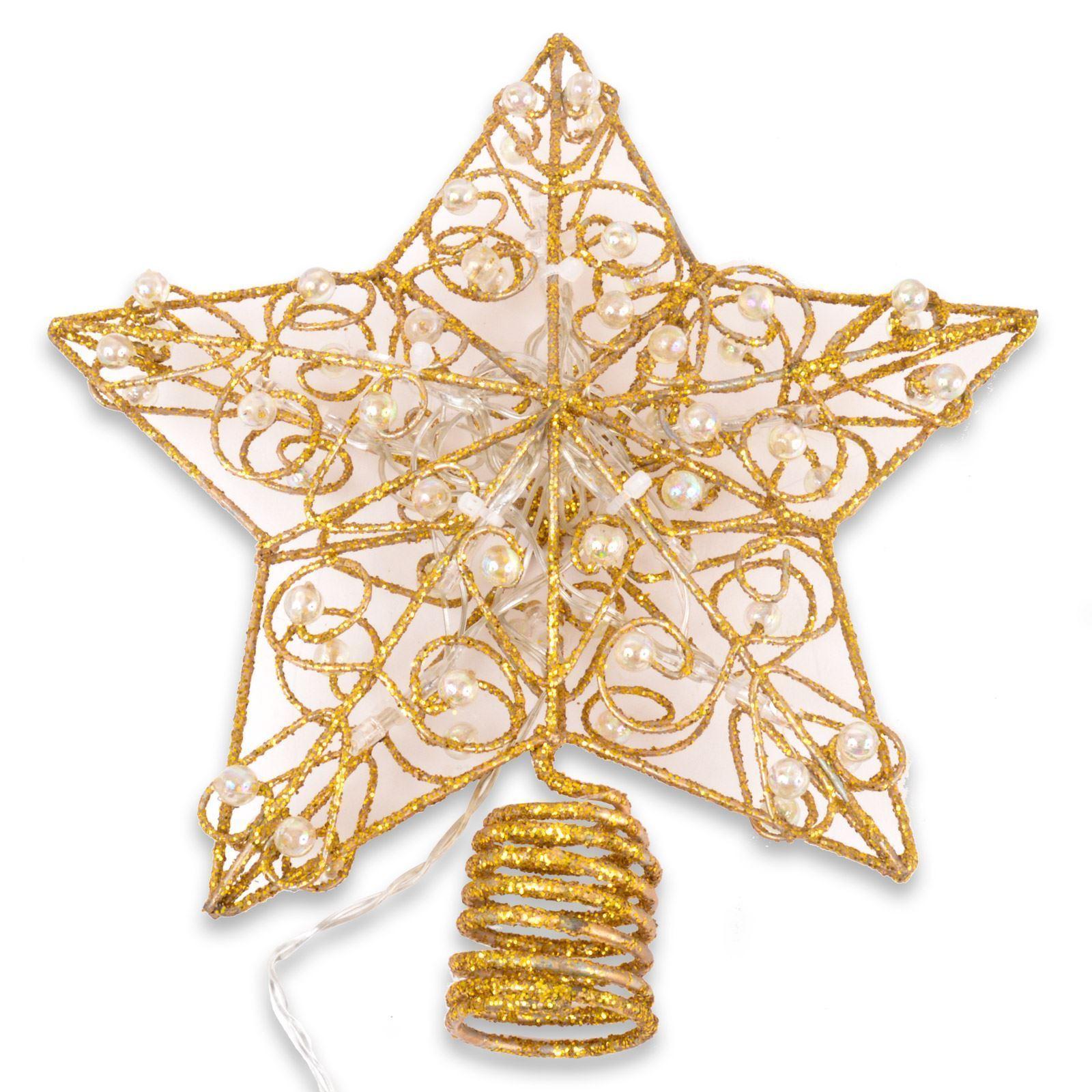 gold glitter christmas tree