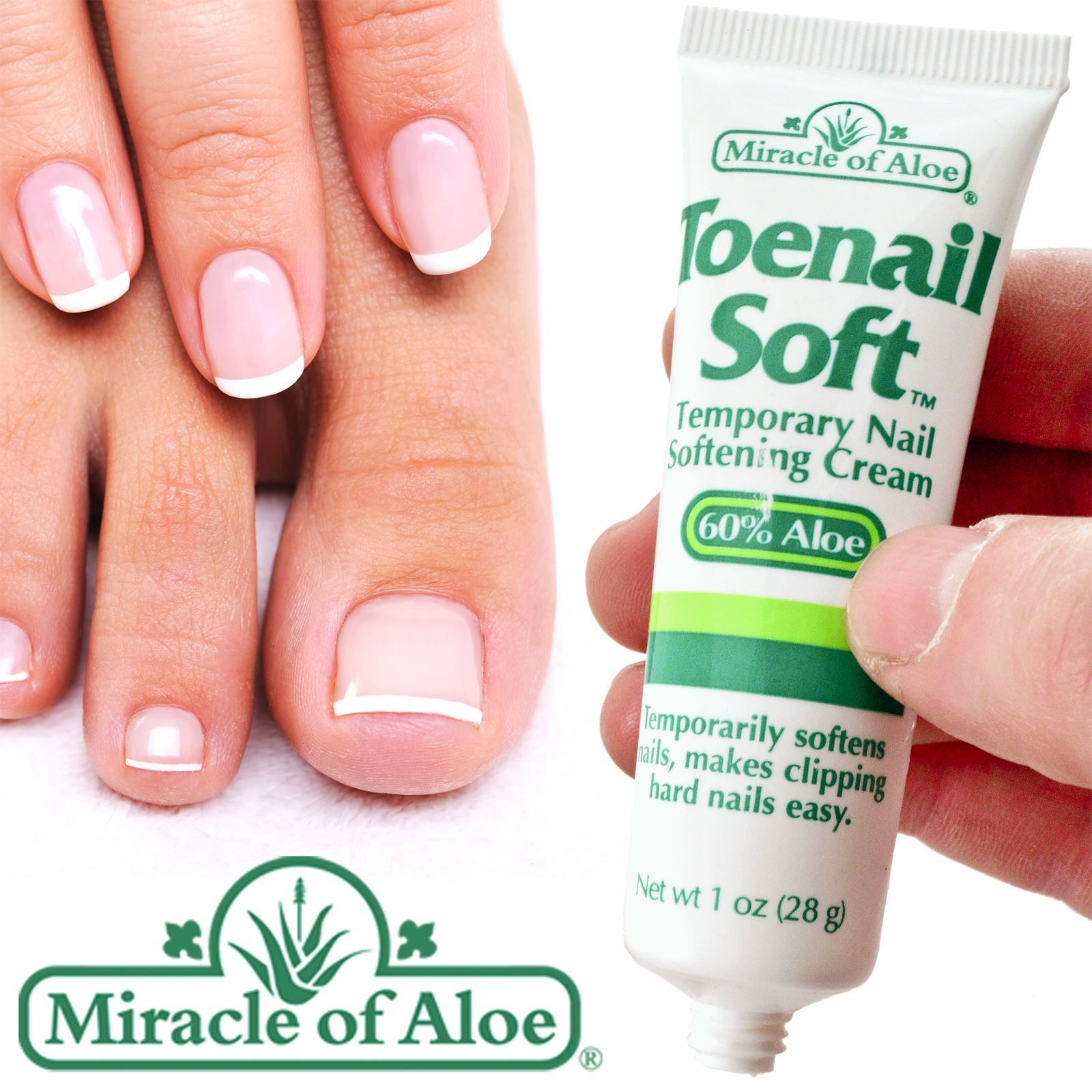 Miracle Toenail Soft Softener Softens Helps Prevent Ingrowing Toe ...