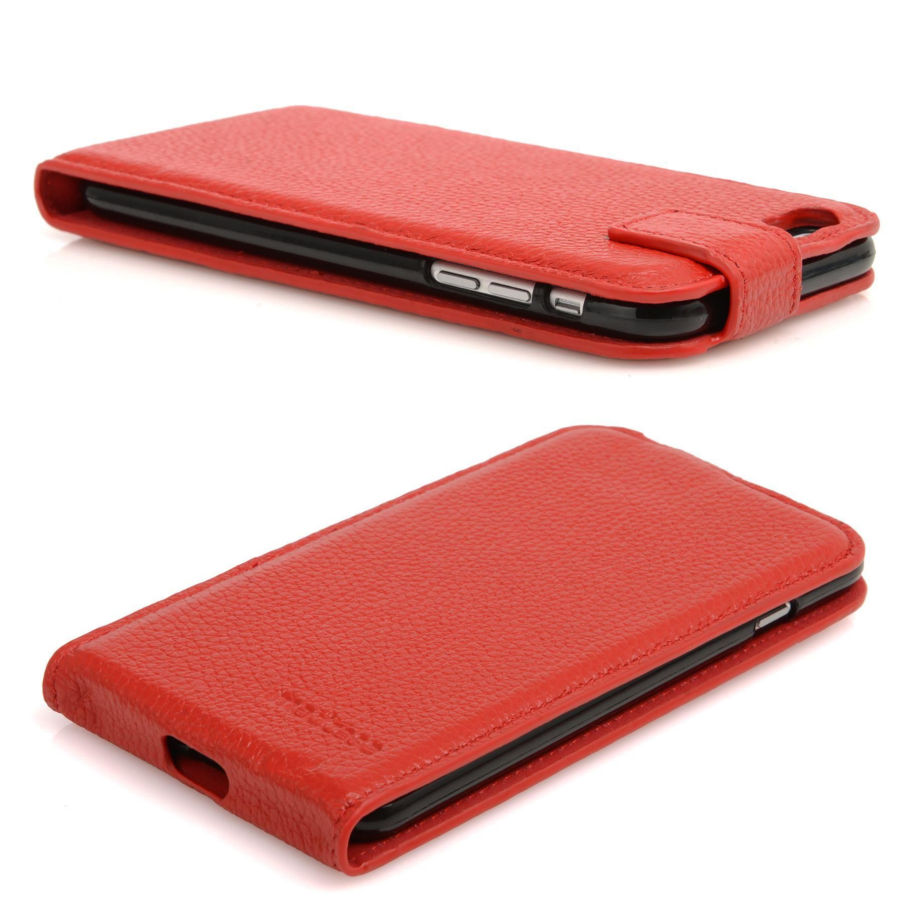 For Apple Iphone 6s Plus 6 Plus Real Leather Case Flip Credit Card