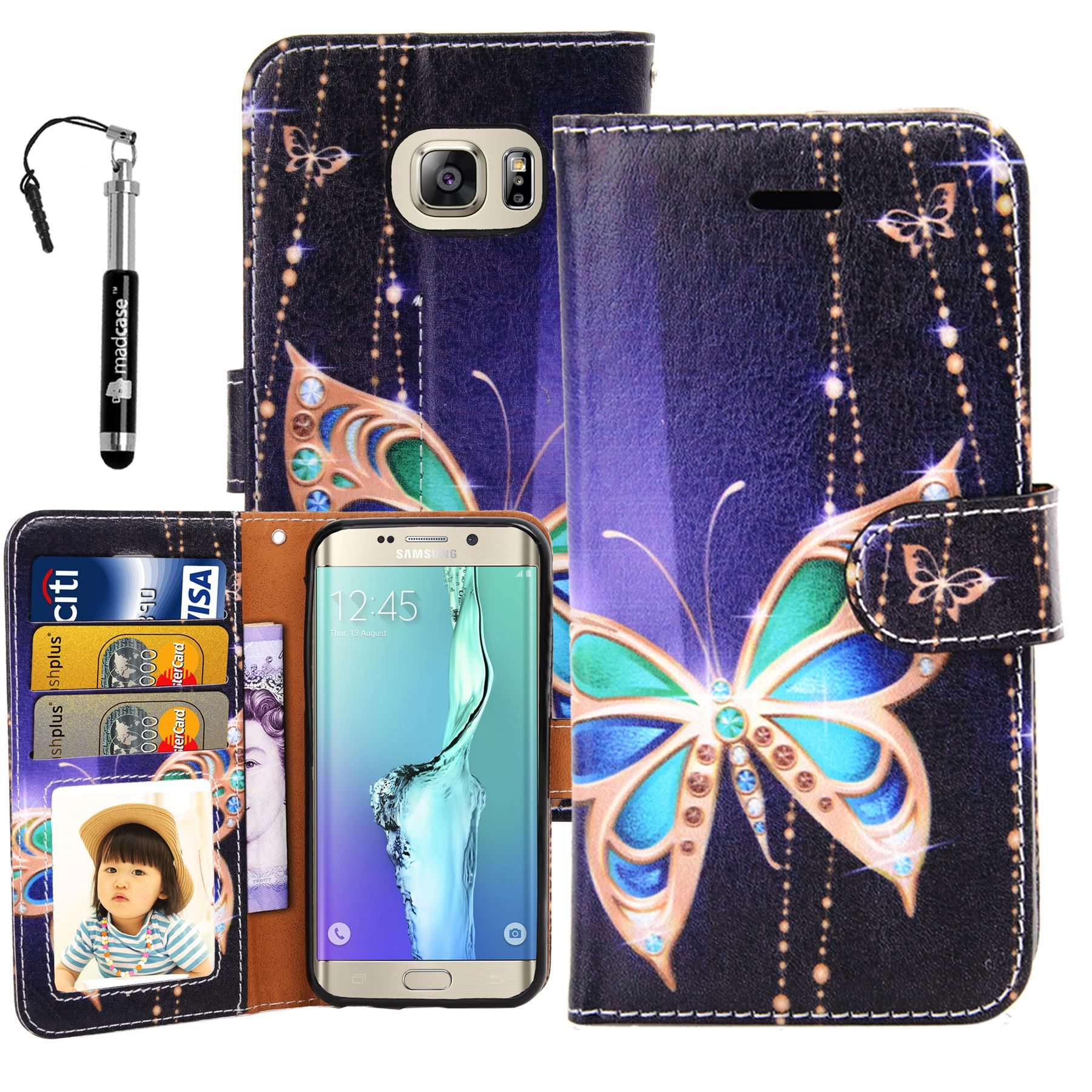 For-Samsung-Galaxy-S6-Edge-Leather-Case-Cute-Design-Wallet-Credit-Card-Cover