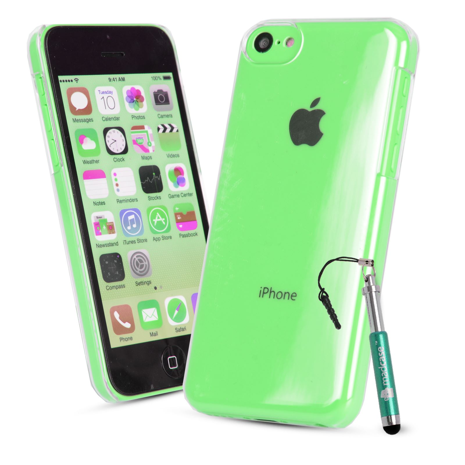 For Apple iPhone 5c Clear Case Ultra Thin Air Slim ...