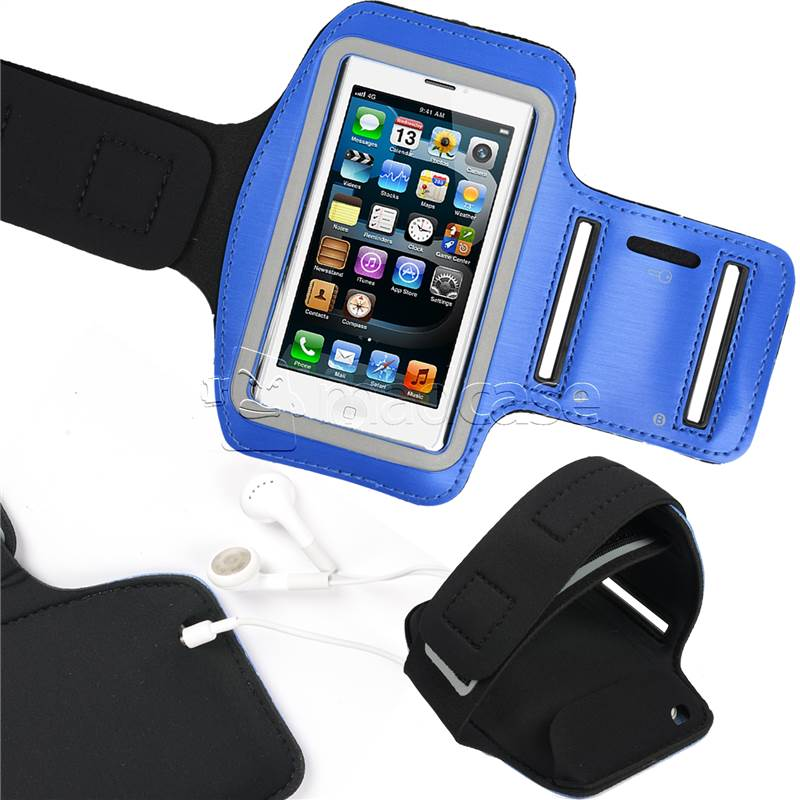 miniatuur 4 - For Apple iPhone SE 5S 5 Armband Case Active Adjustable Sport Gym Running Cover