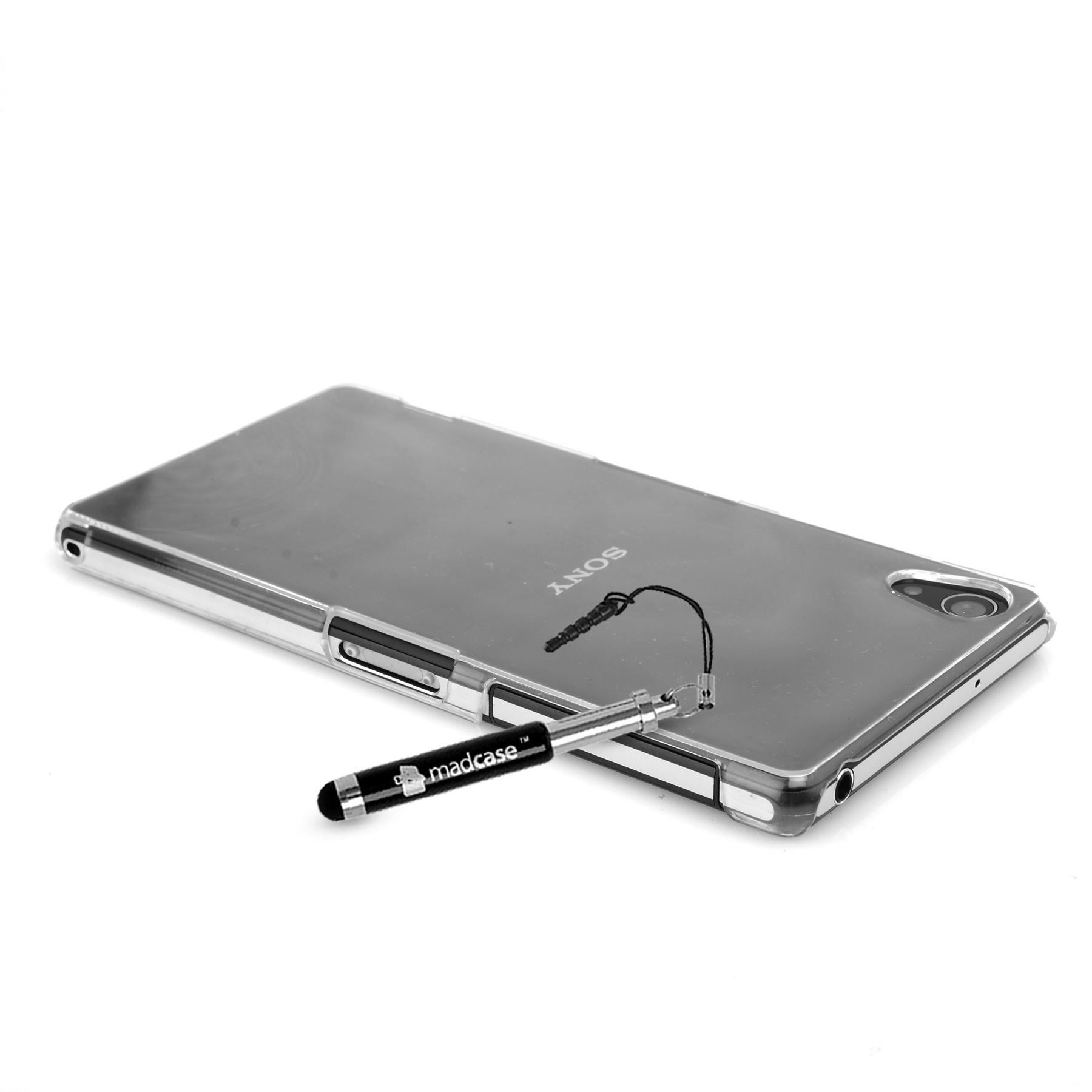 pretty nice d2a68 3656d Details about For Sony Xperia Z2 CLEAR Slim Transparent Hard case /  Silicone GEL cover