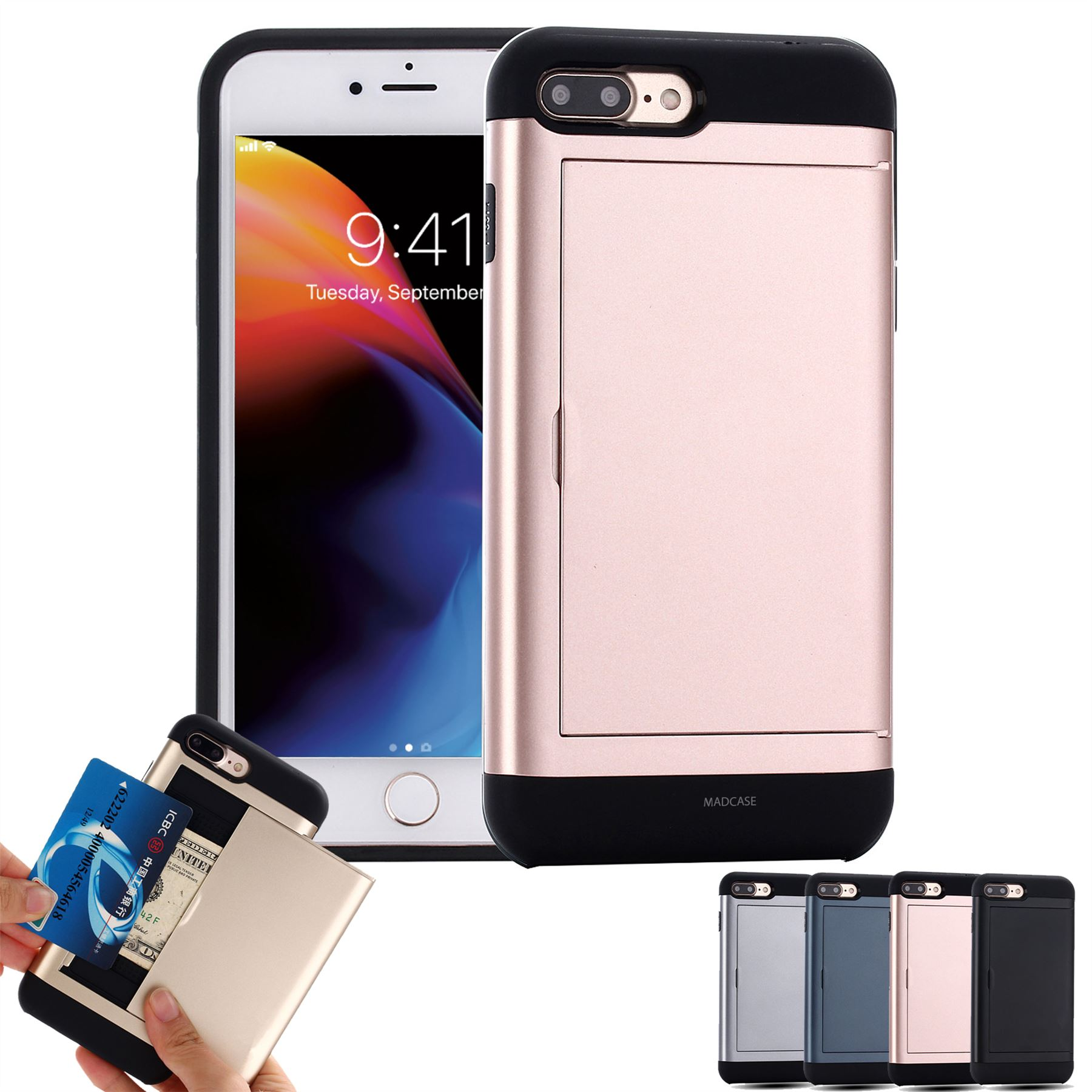 Apple iPhone X XS XR MAX 8 7 Plus Case Shockproof ...