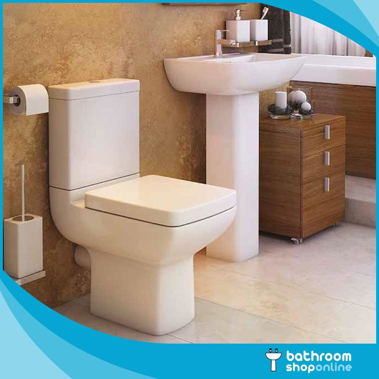 P Shaped Bathroom Suite Right/Left Hand 1700 Bath BTW Toilet WC ...