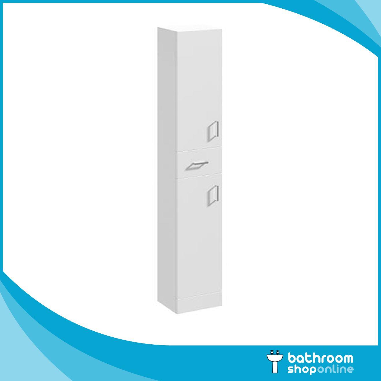 Bathroom Furniture Gloss White Cabinet Storage Vanity Unit Basin Sink Ebay