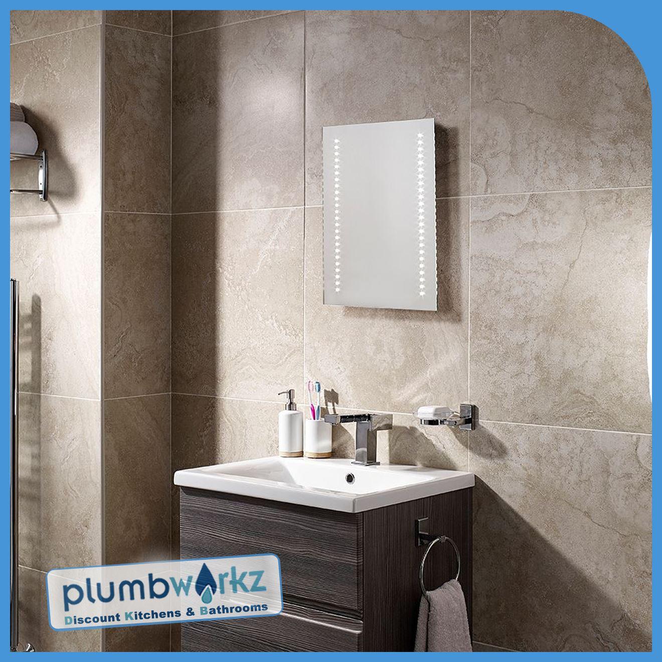 Lighted Mirrors For Bathrooms Modern: Modern Led Illuminated Bathroom Mirror Bluetooth Demister