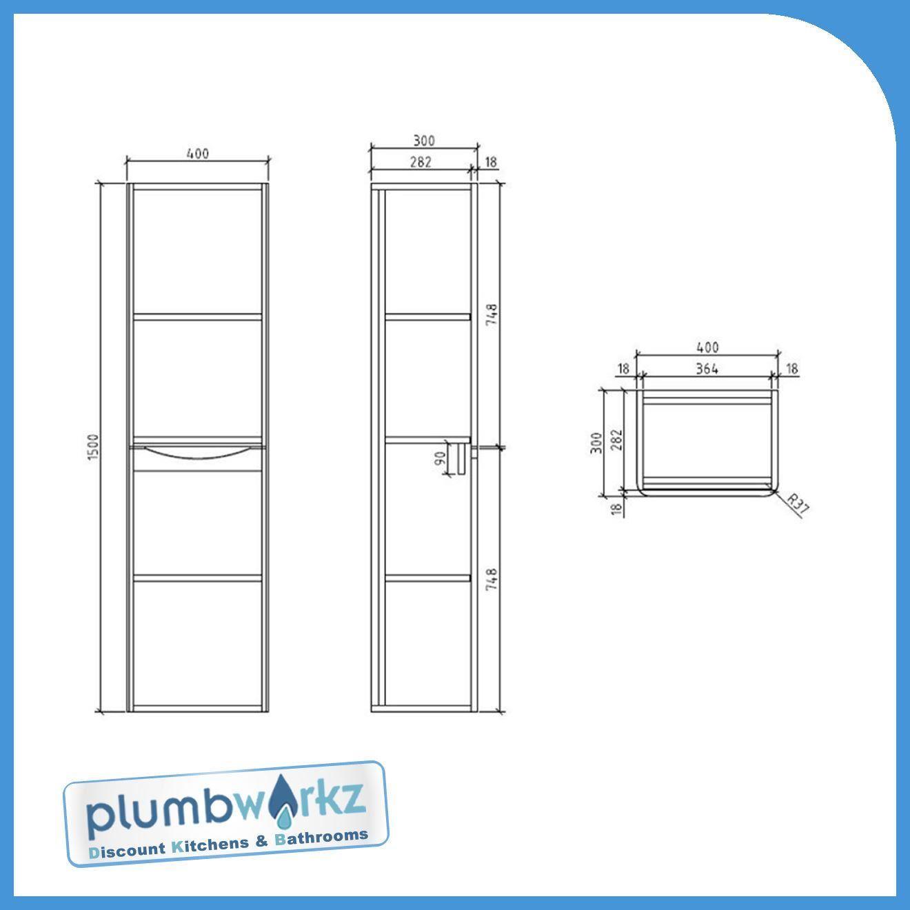 Modern Black Designer Bathroom Furniture Cabinet Basin Vanity Unit Wc Unit Ebay