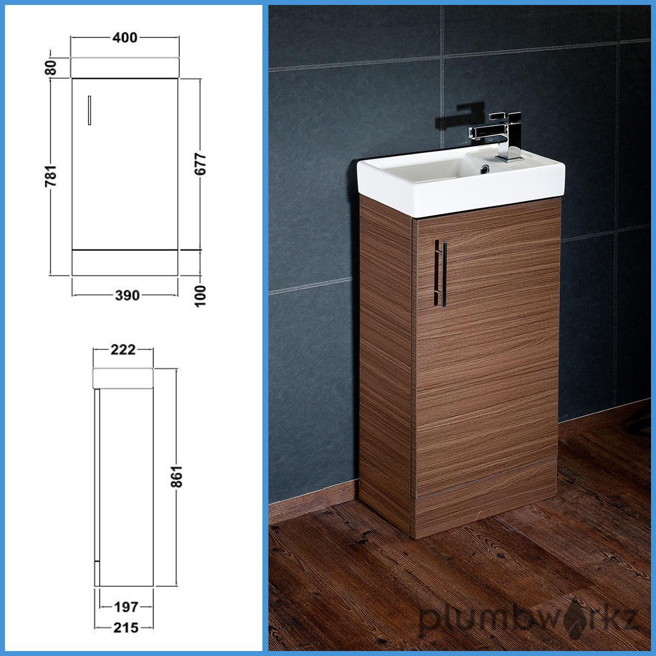 Compact Bathroom Vanity Unit Amp Basin Sink Vanity