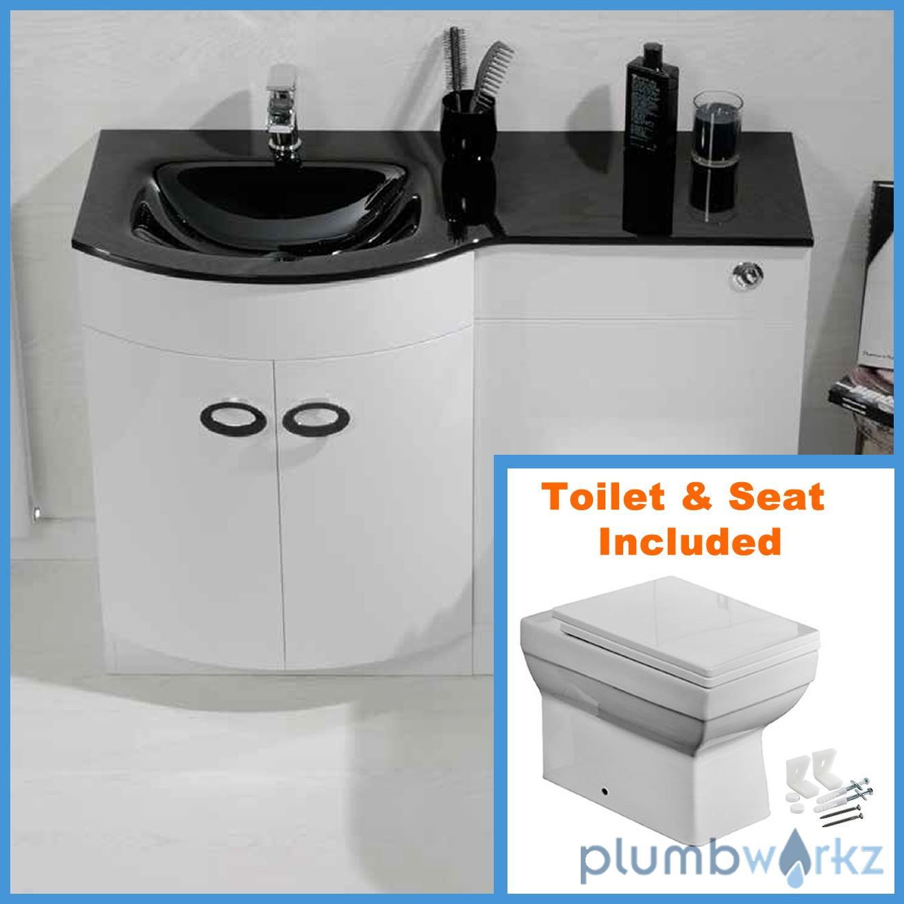 bathroom sink and toilet vanity unit d shape bathroom vanity unit basin sink bathroom wc unit 24940