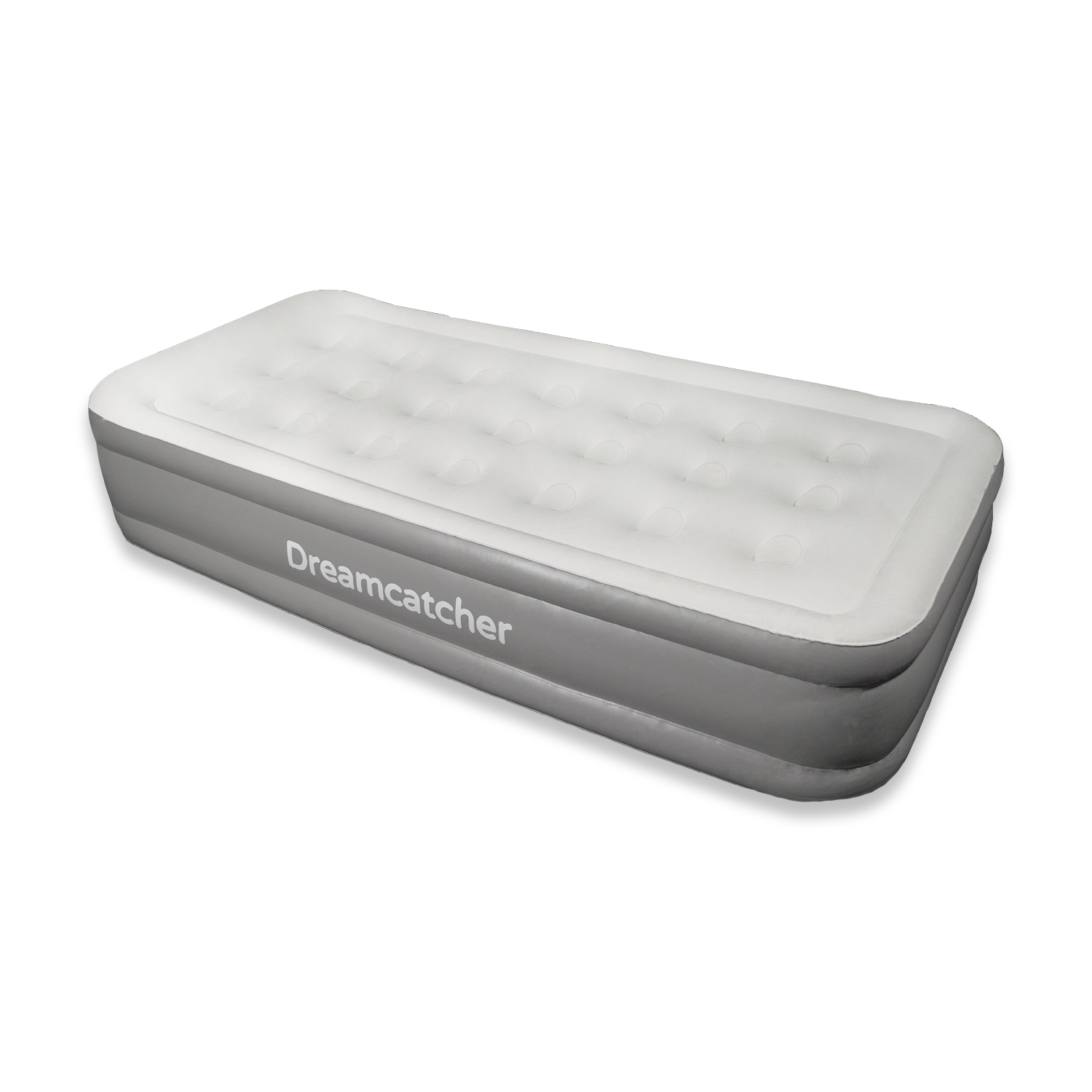 Deluxe Single Air Bed Blow Up Inflatable Mattress With